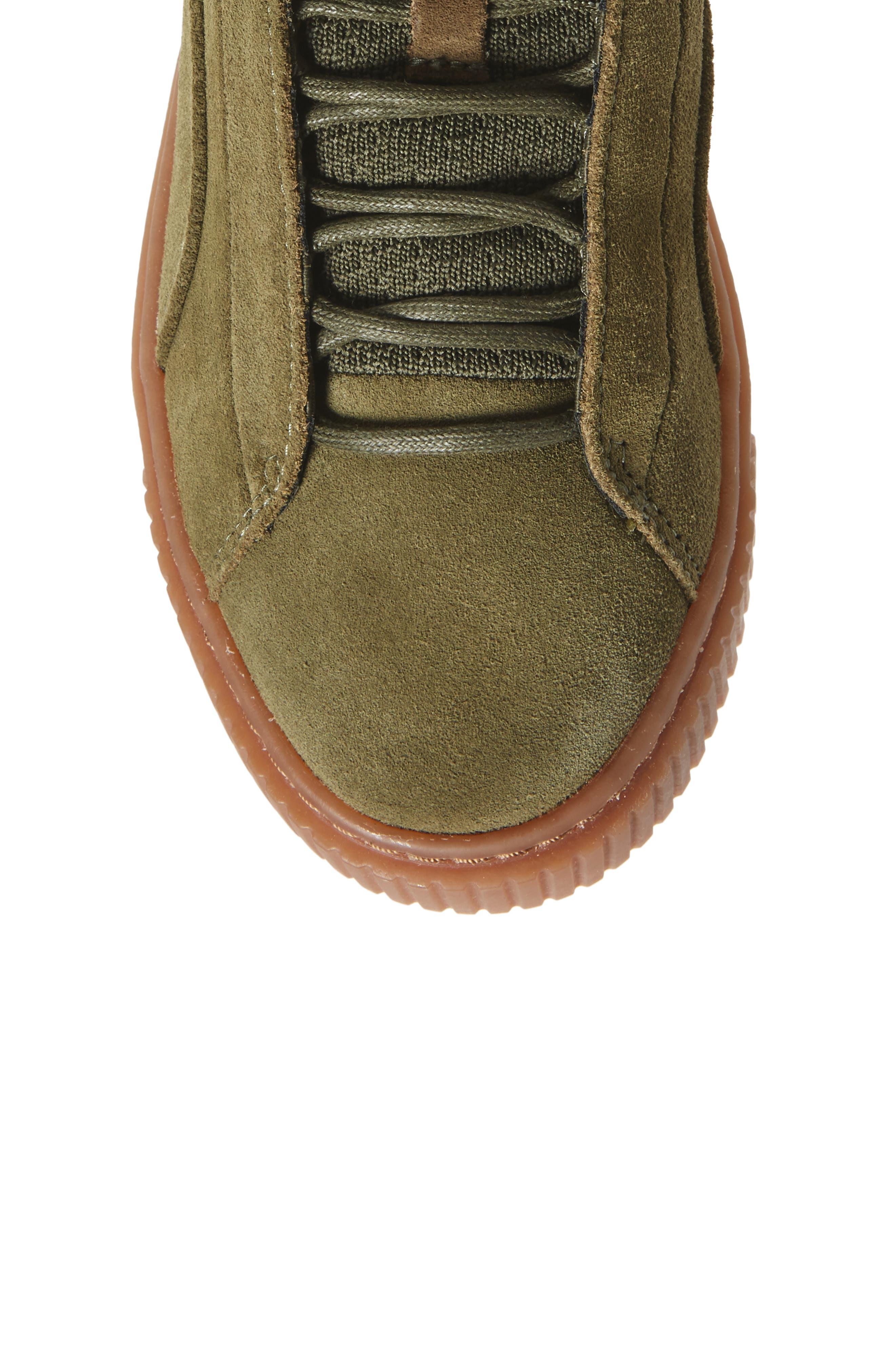 Alternate Image 5  - PUMA Platform Mid OW Sneaker (Women)