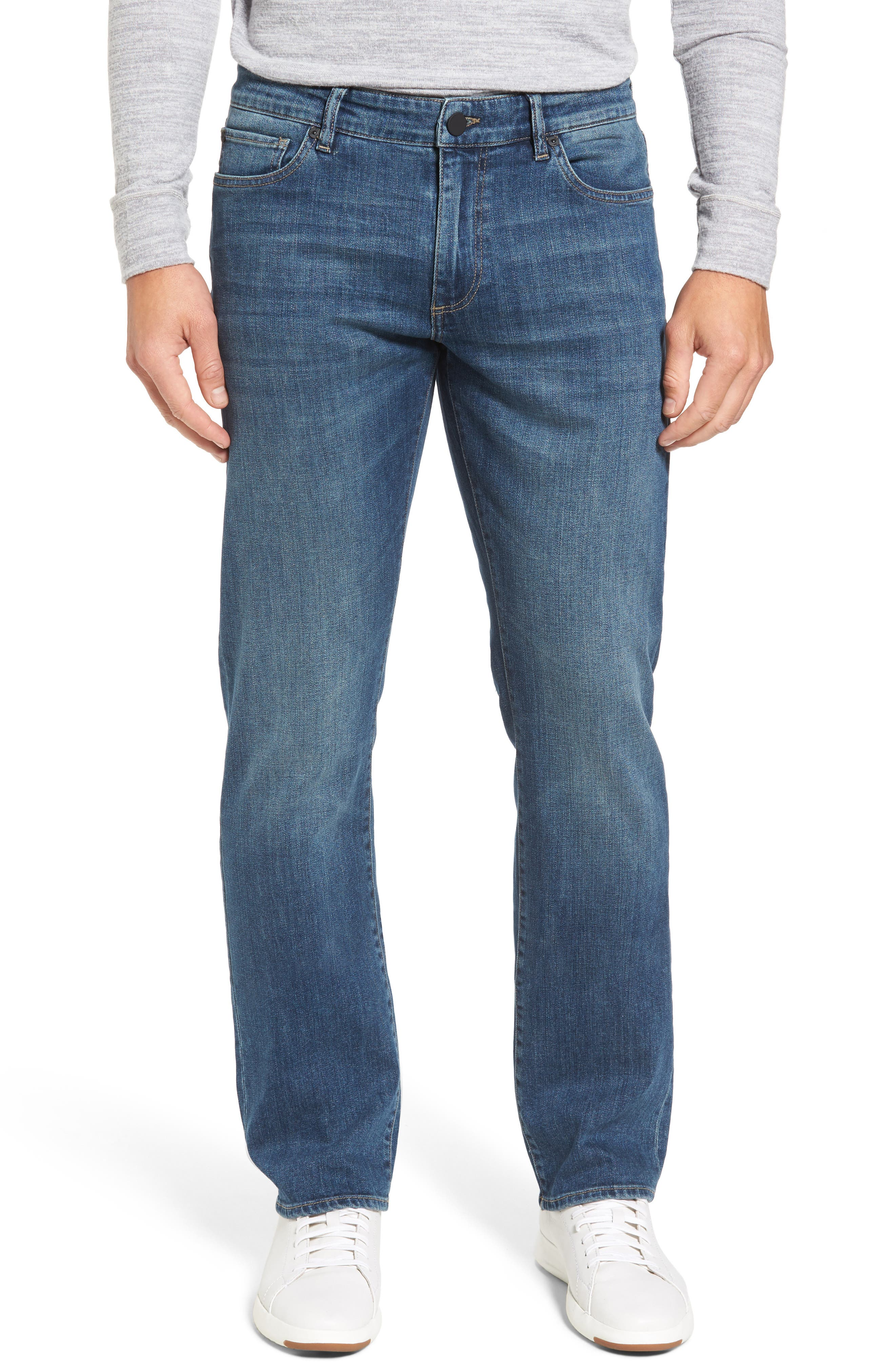 Alternate Image 1 Selected - DL1961 Avery Slim Straight Leg Jeans (Epoxy)