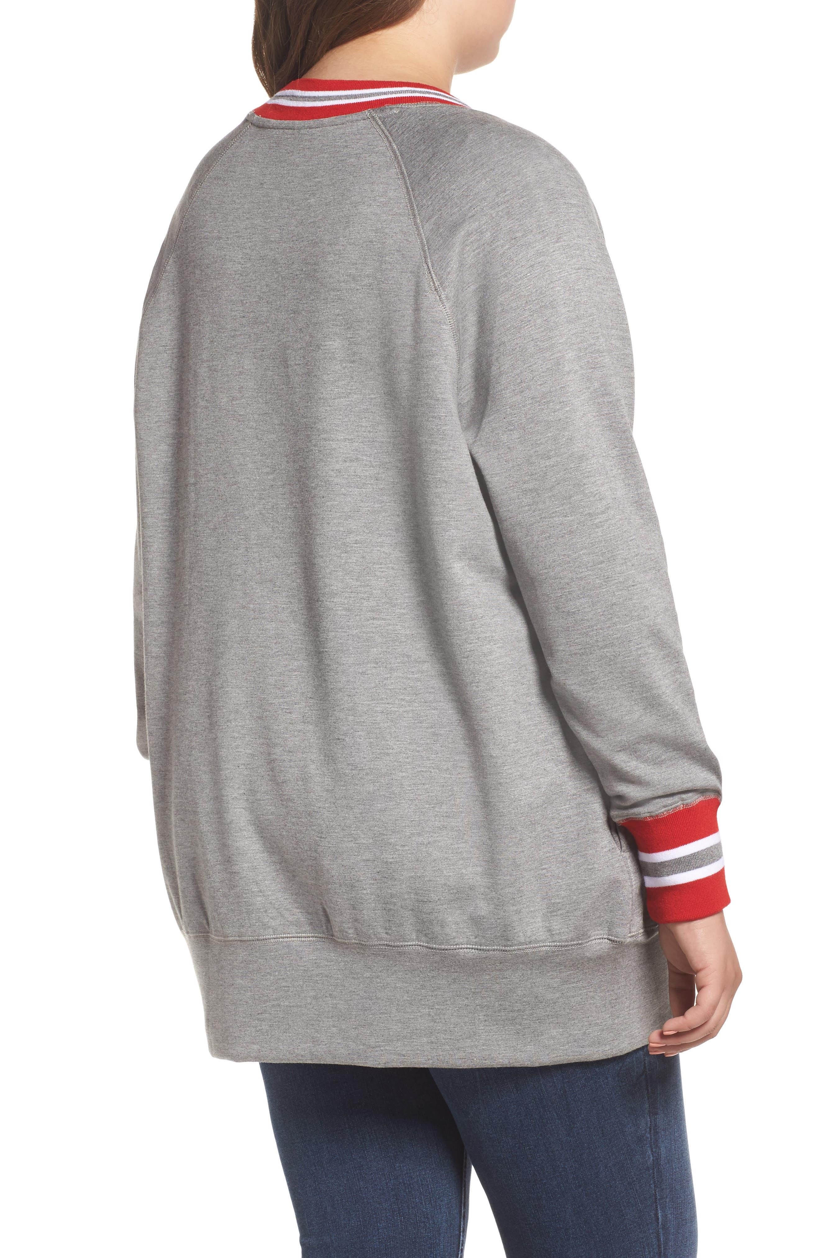 Alternate Image 2  - Melissa McCarthy Seven7 Sweatshirt (Plus Size)
