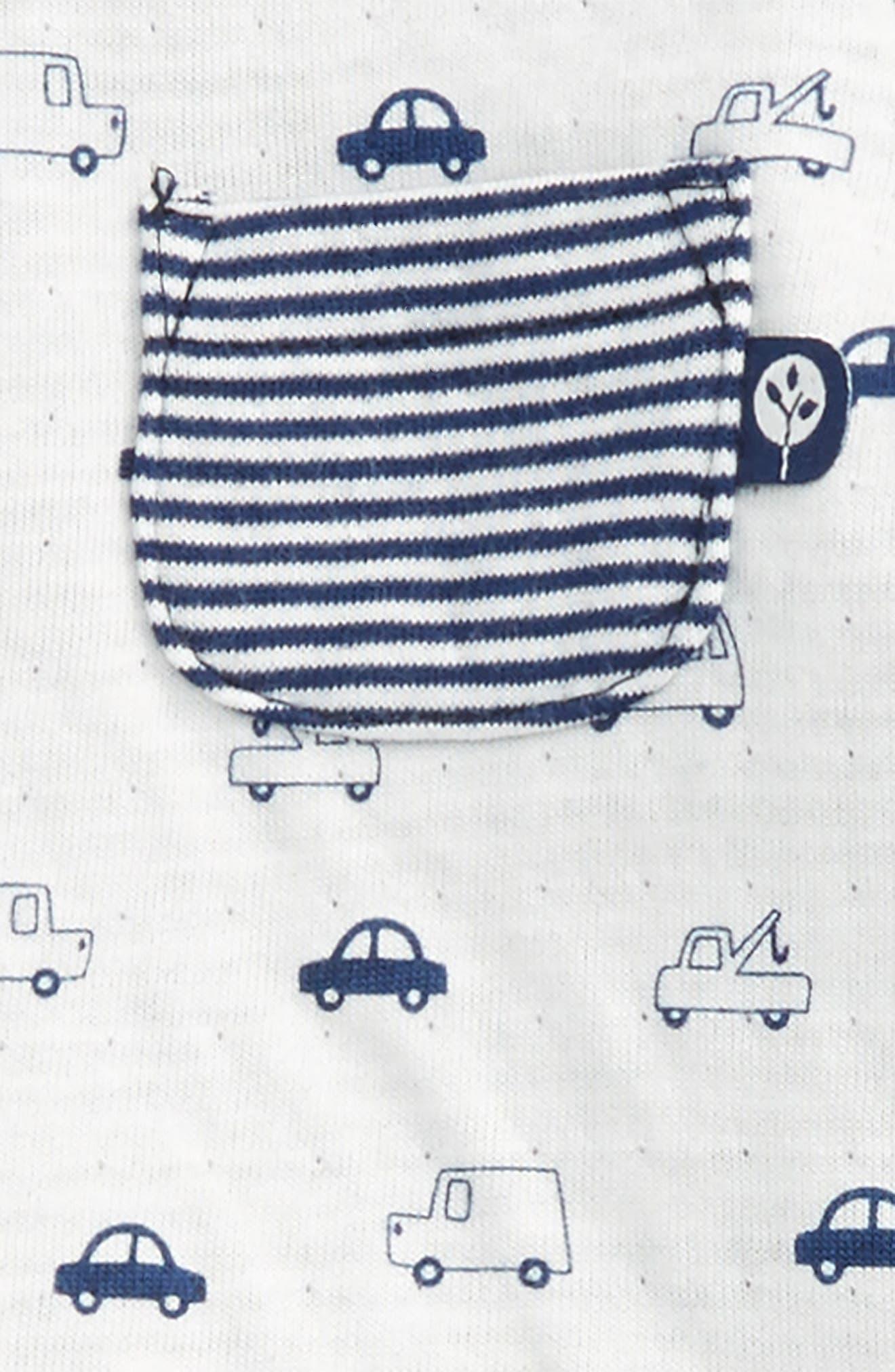 Traffic Circles Sweatshirt & Pants Set,                             Alternate thumbnail 2, color,                             Navy Stripe