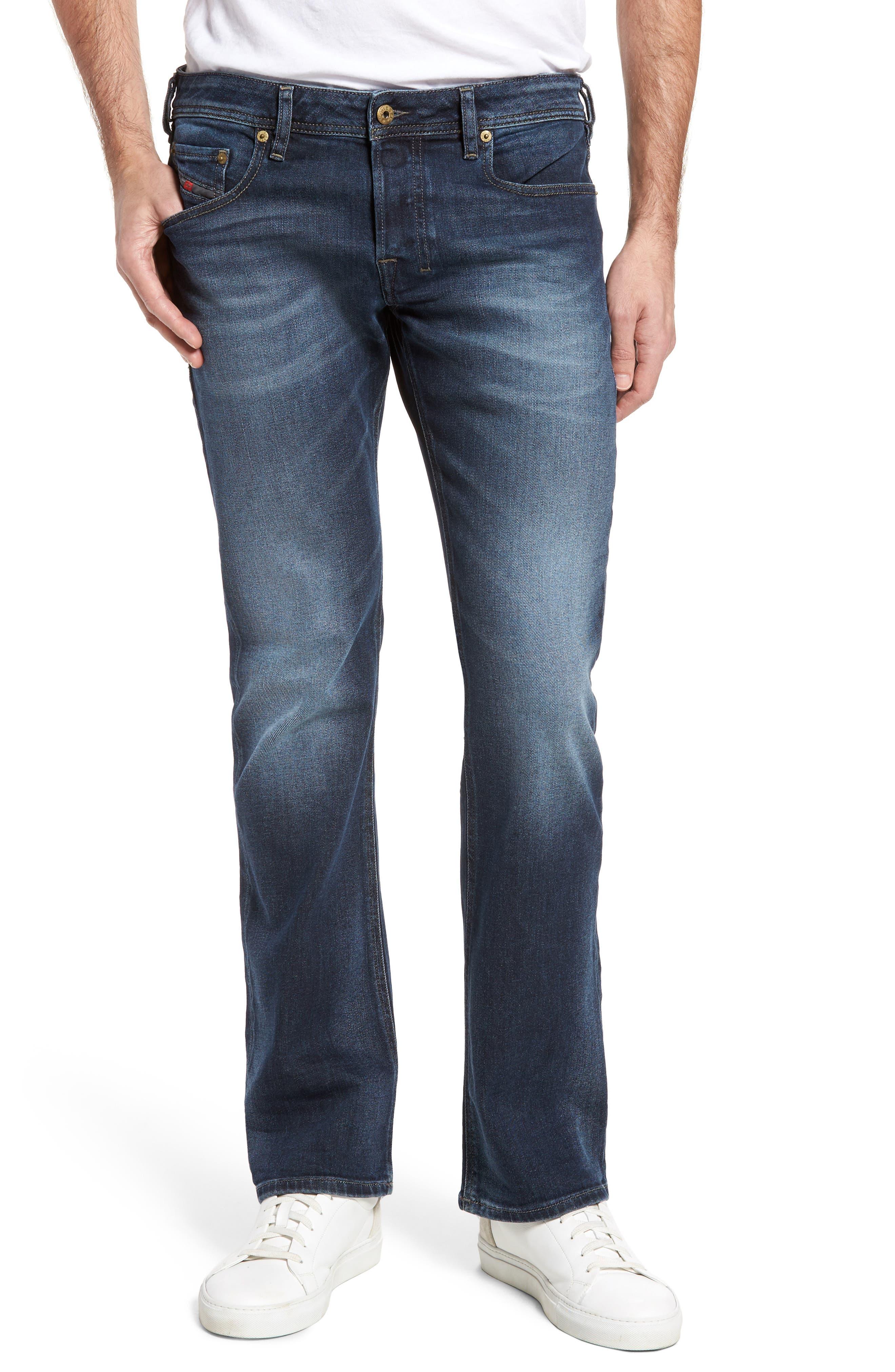 Zatiny Bootcut Jeans,                         Main,                         color, Denim