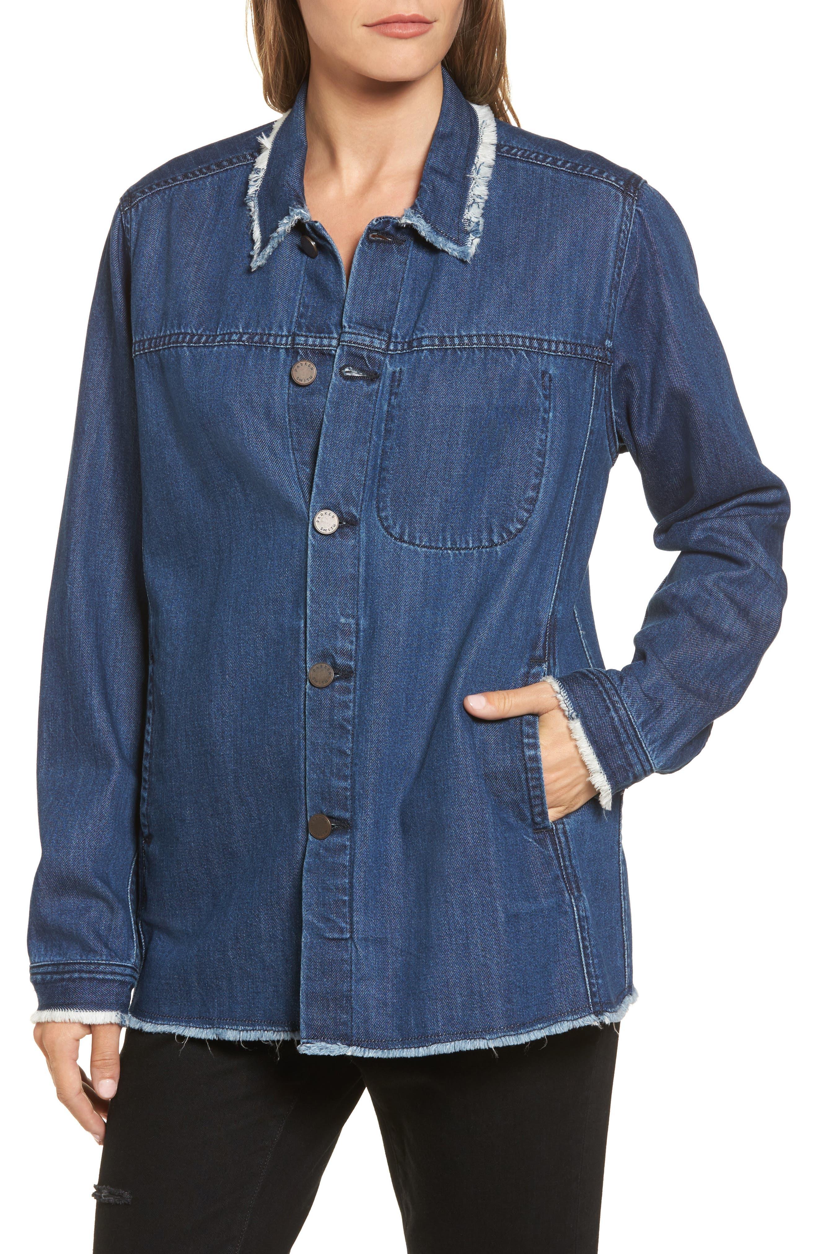 Gavin Shirt Jacket,                             Alternate thumbnail 4, color,                             Altitude