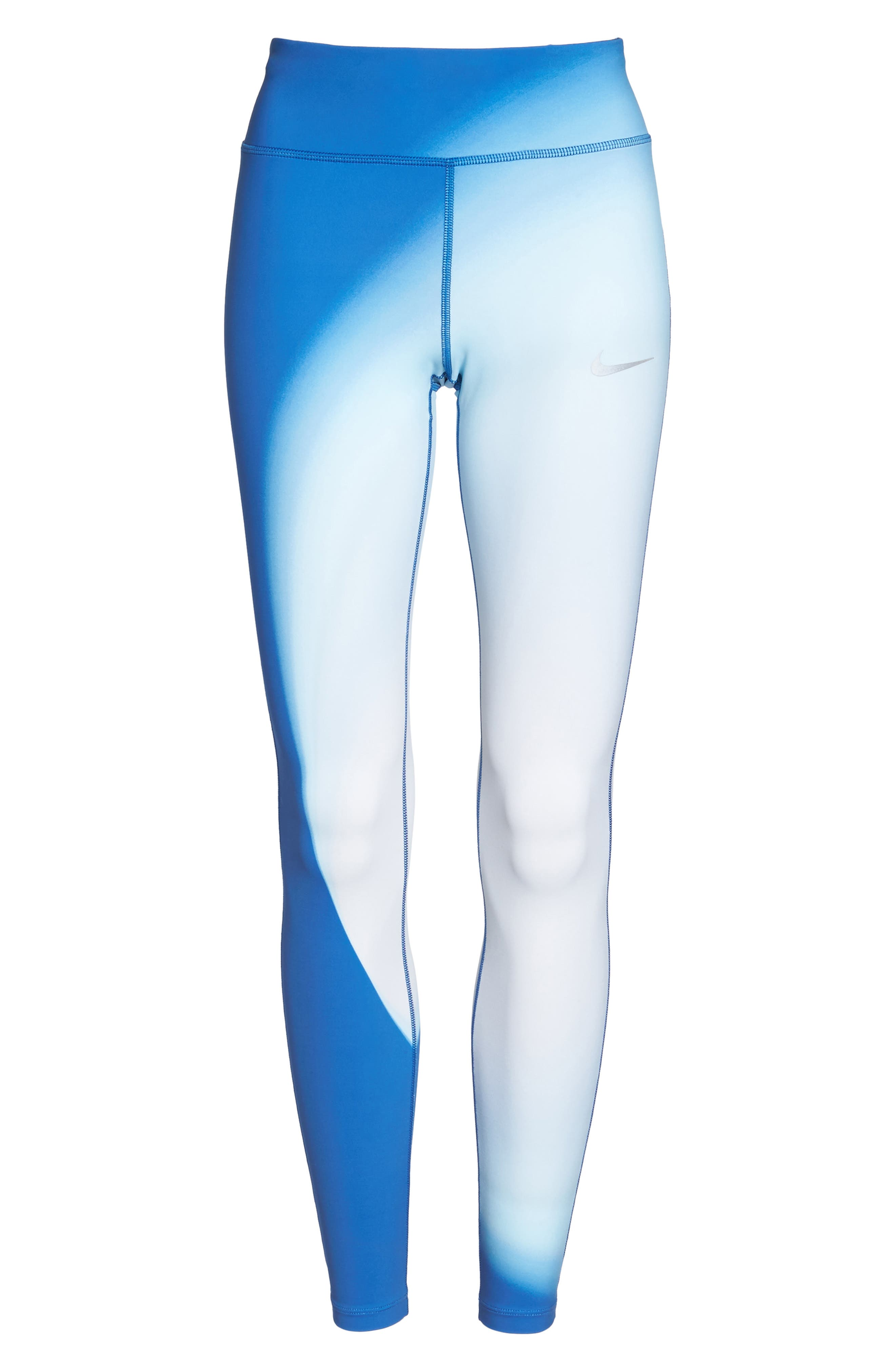 Power Epic Lux 2.0 Running Tights,                             Alternate thumbnail 7, color,                             Thunder Blue
