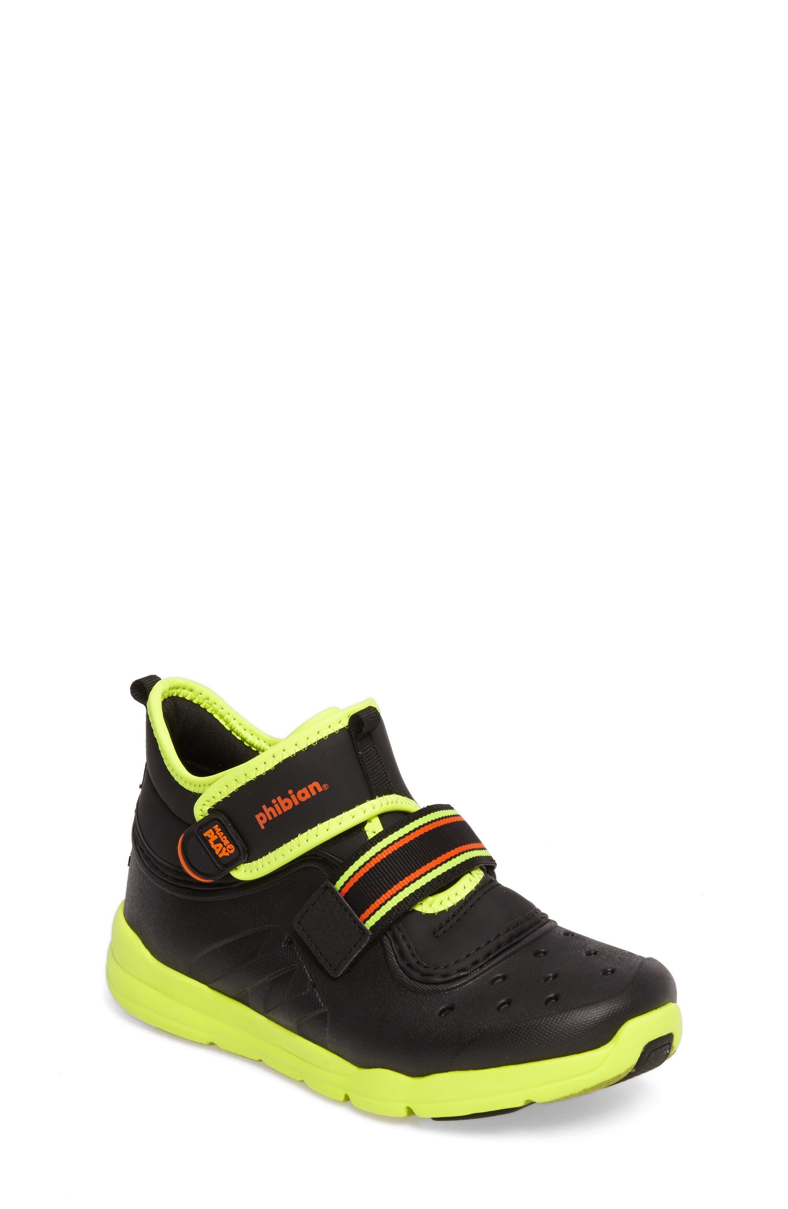 Main Image - Stride Rite Made2Play® Phibian Mid Top Sneaker (Baby, Walker & Toddler)