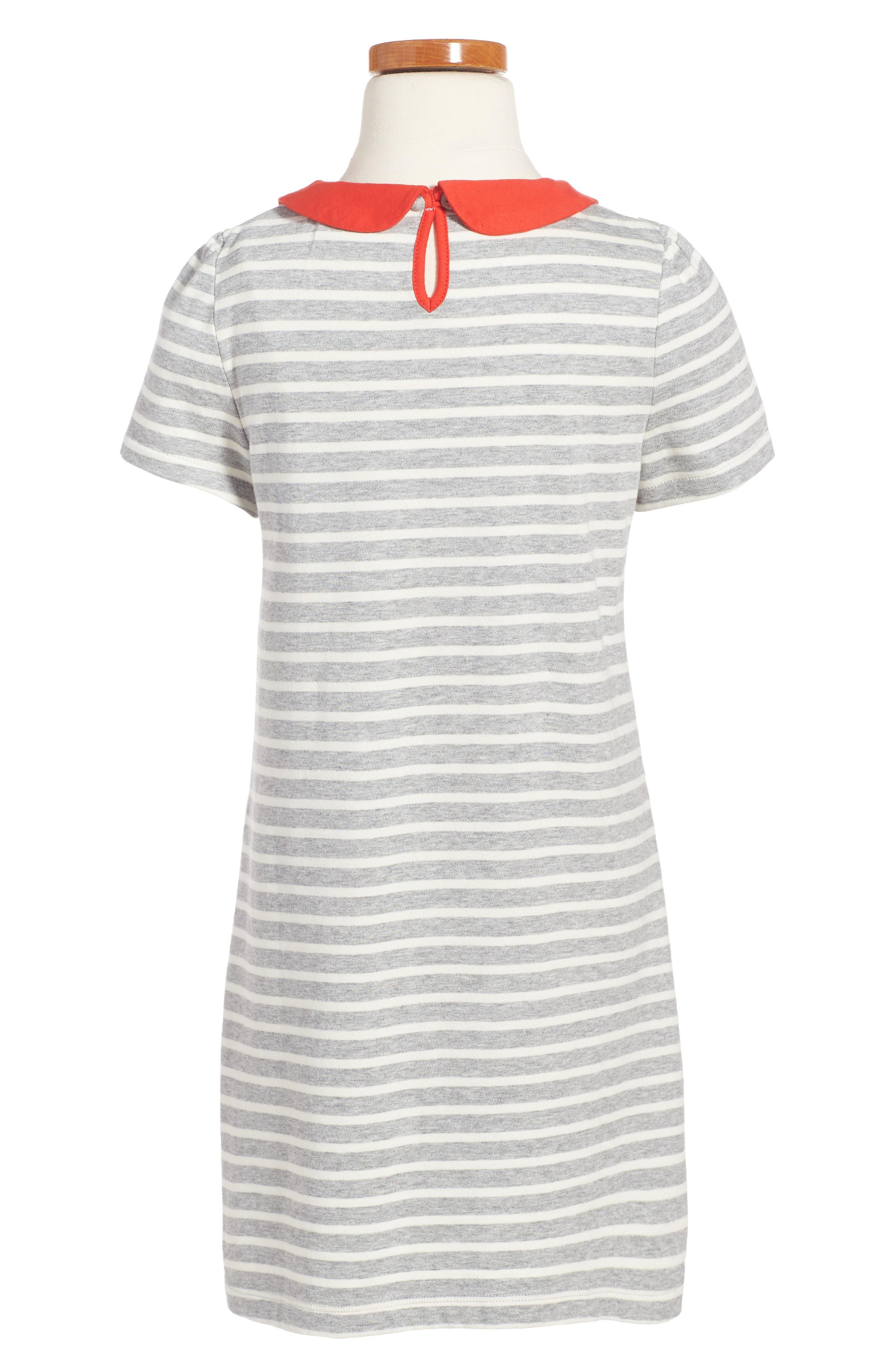 Alternate Image 2  - Mini Boden Fun Appliqué Jersey Dress (Toddler Girls, Little Girls & Big Girls)
