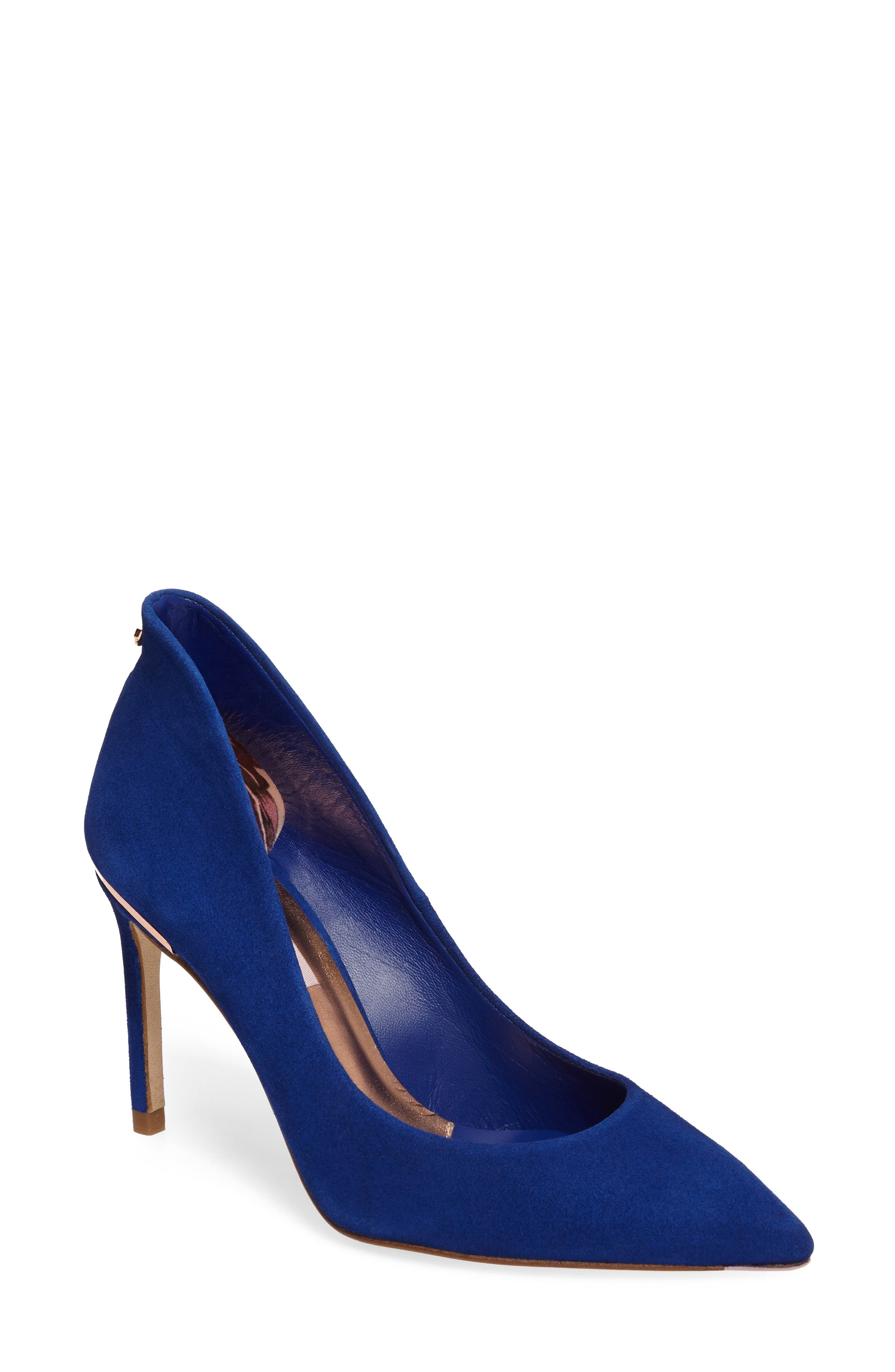 Alternate Image 1 Selected - Ted Baker London Savio Pointy Toe Pump (Women)