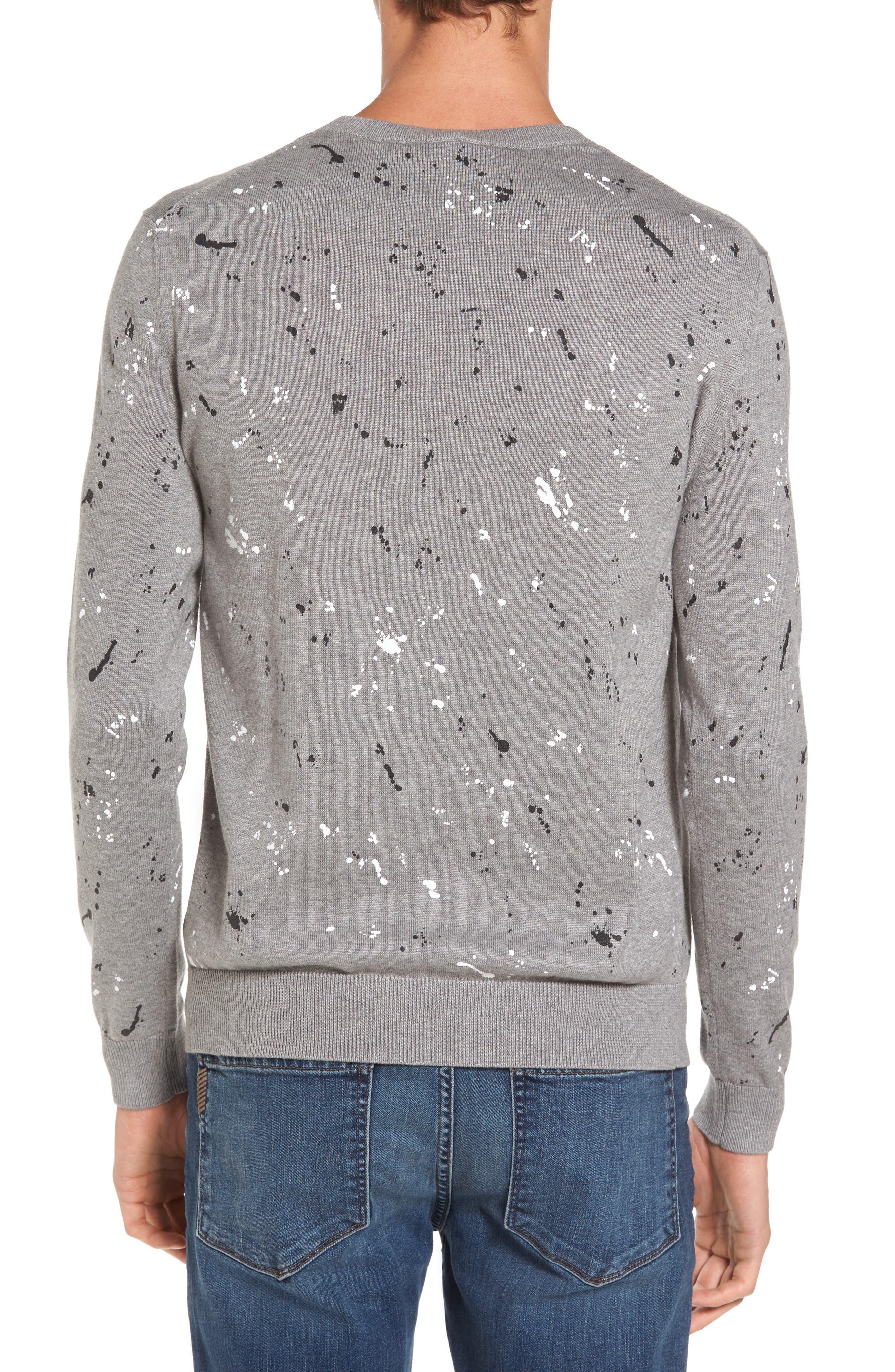 Alternate Image 2  - Lacoste Splatter Sweater