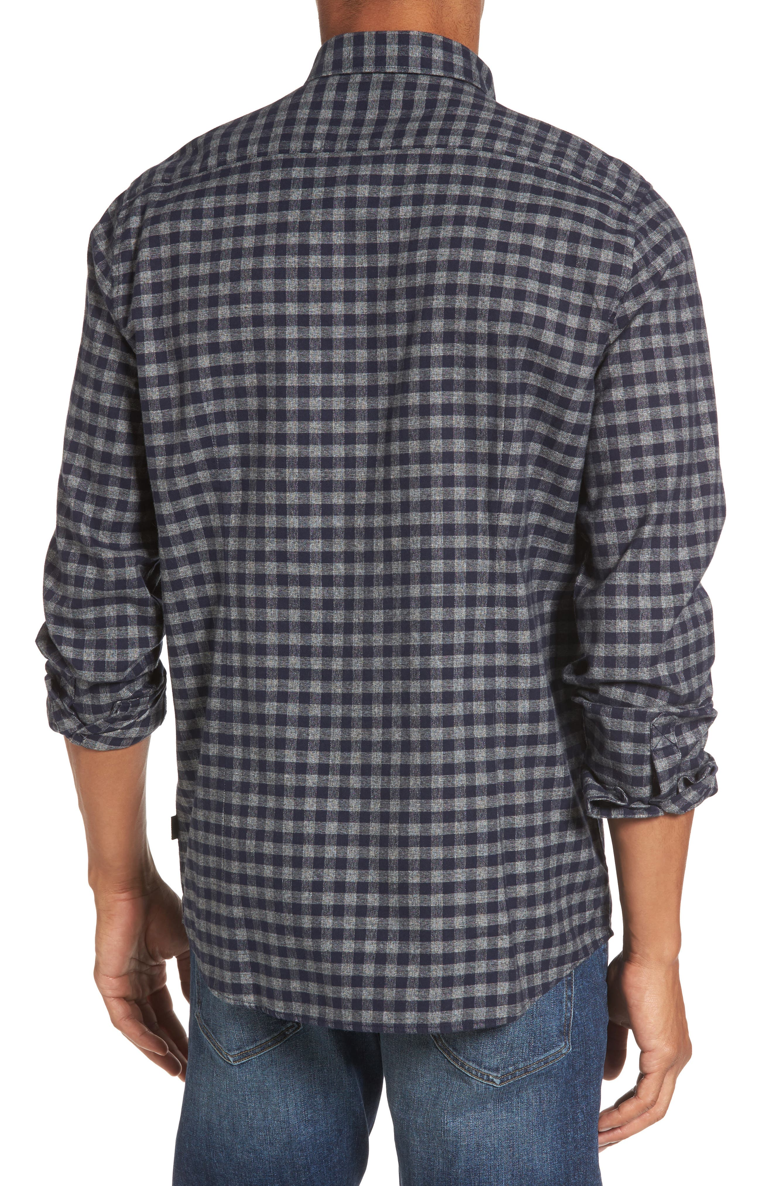 Alternate Image 2  - Barbour Ratchet Regular Fit Check Sport Shirt