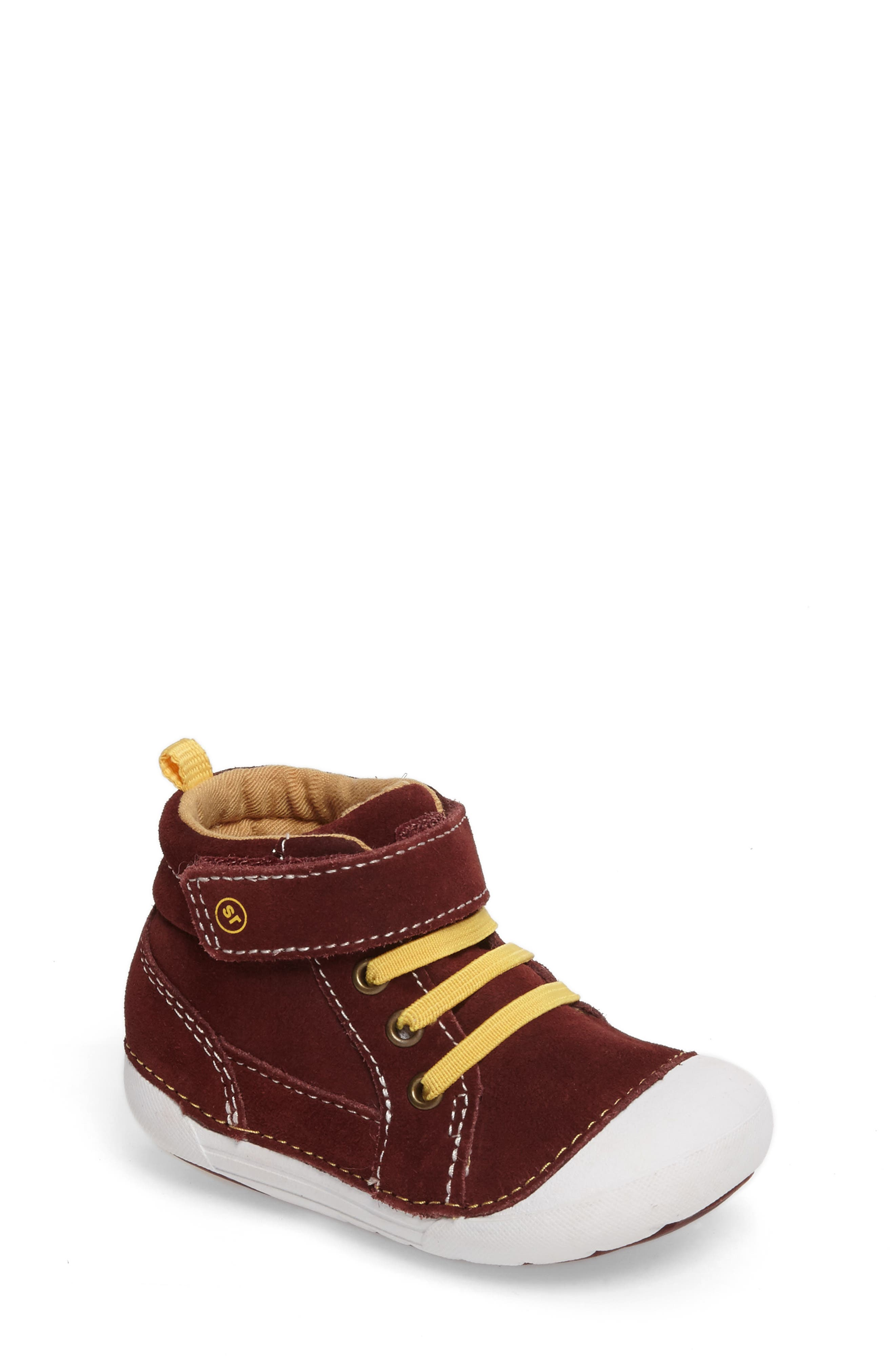 Alternate Image 1 Selected - Stride Rite Soft Motion Danny Sneaker (Baby & Walker)