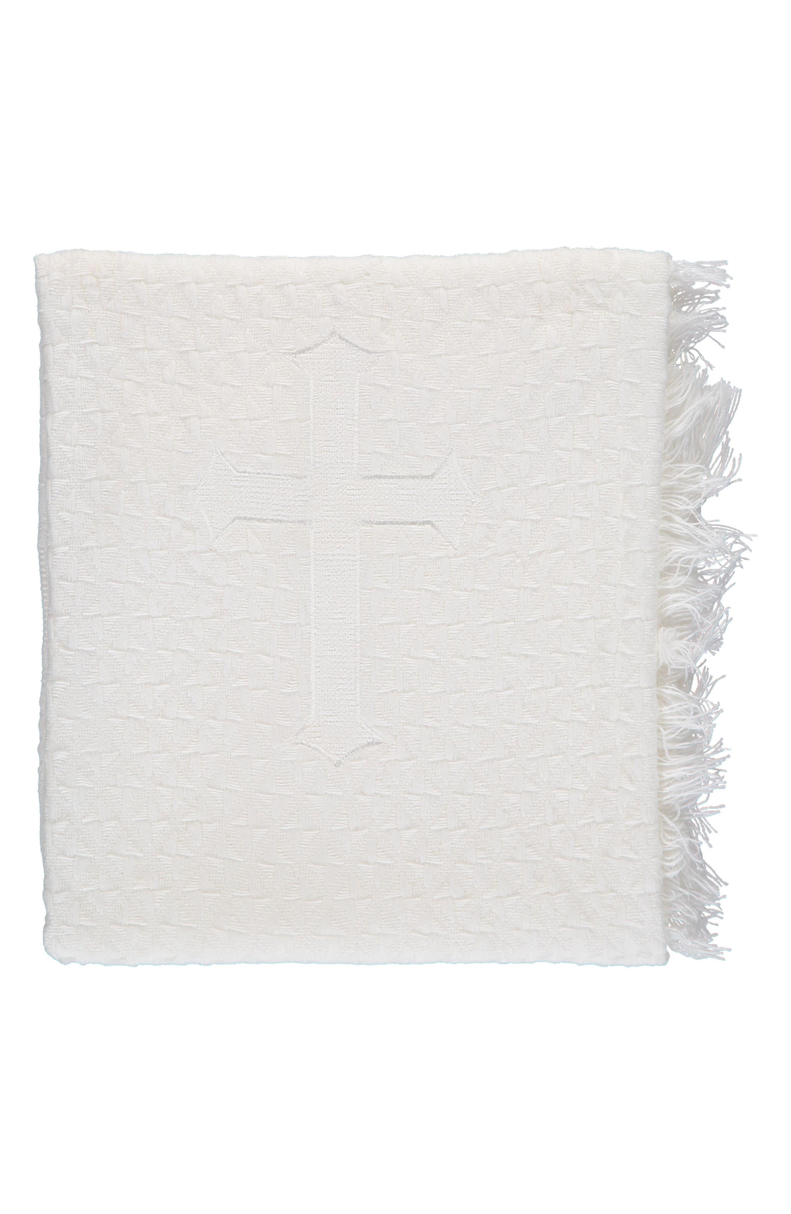 Christening Blanket,                             Main thumbnail 1, color,                             White
