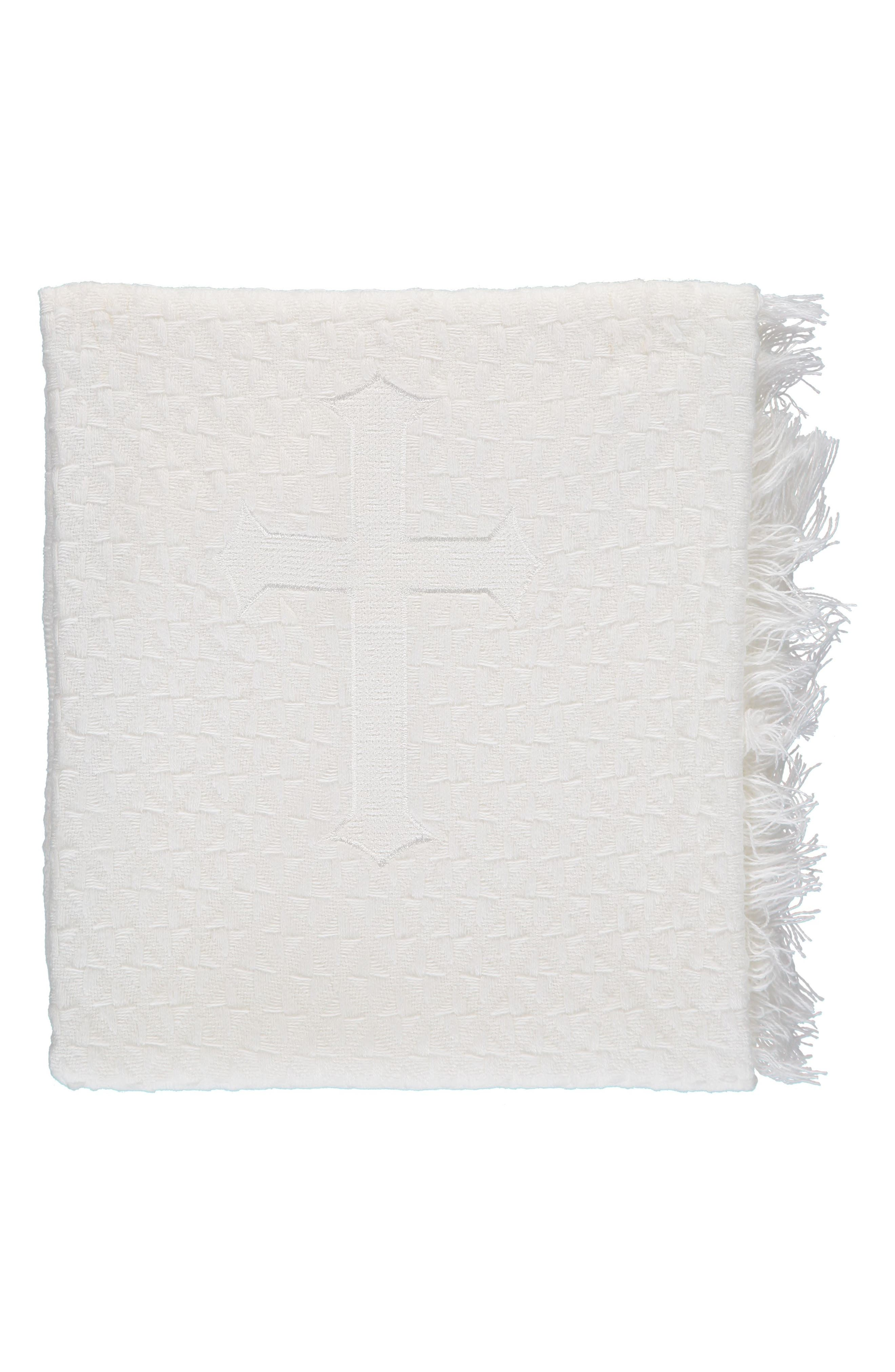 Carriage Boutique Christening Blanket