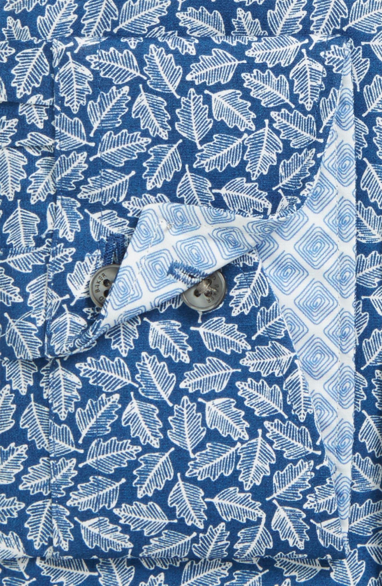 Alternate Image 2  - Ted Baker London Endurance Trim Fit Print Dress Shirt