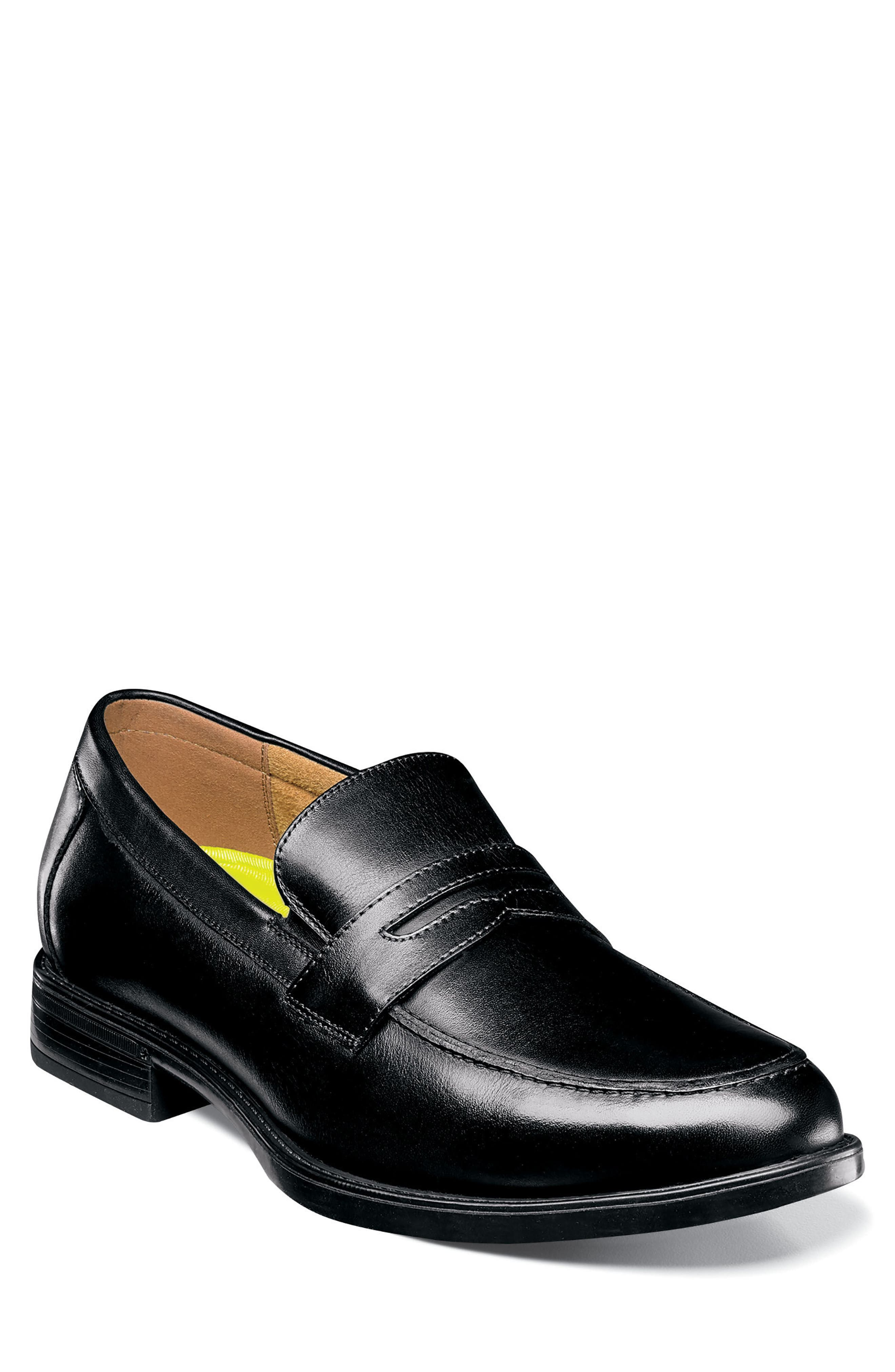 Midtown Penny Loafer,                             Main thumbnail 1, color,                             Black