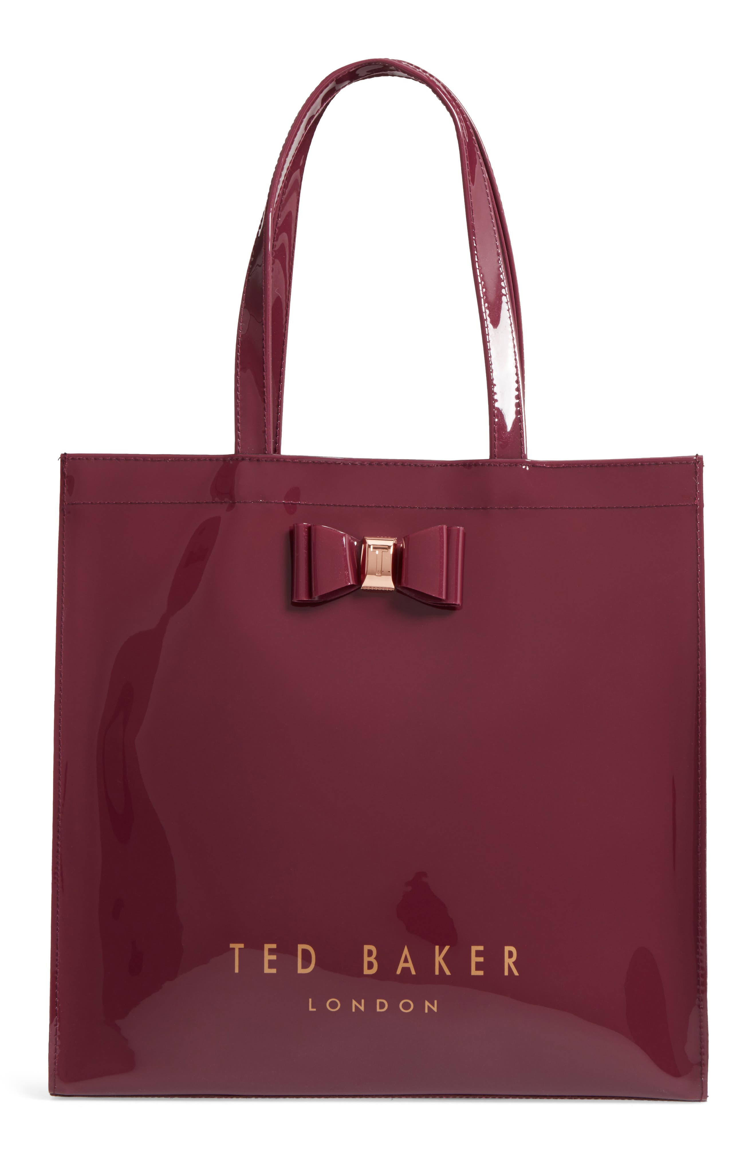 Main Image - Ted Baker London Large Icon – Bethcon Bow Tote