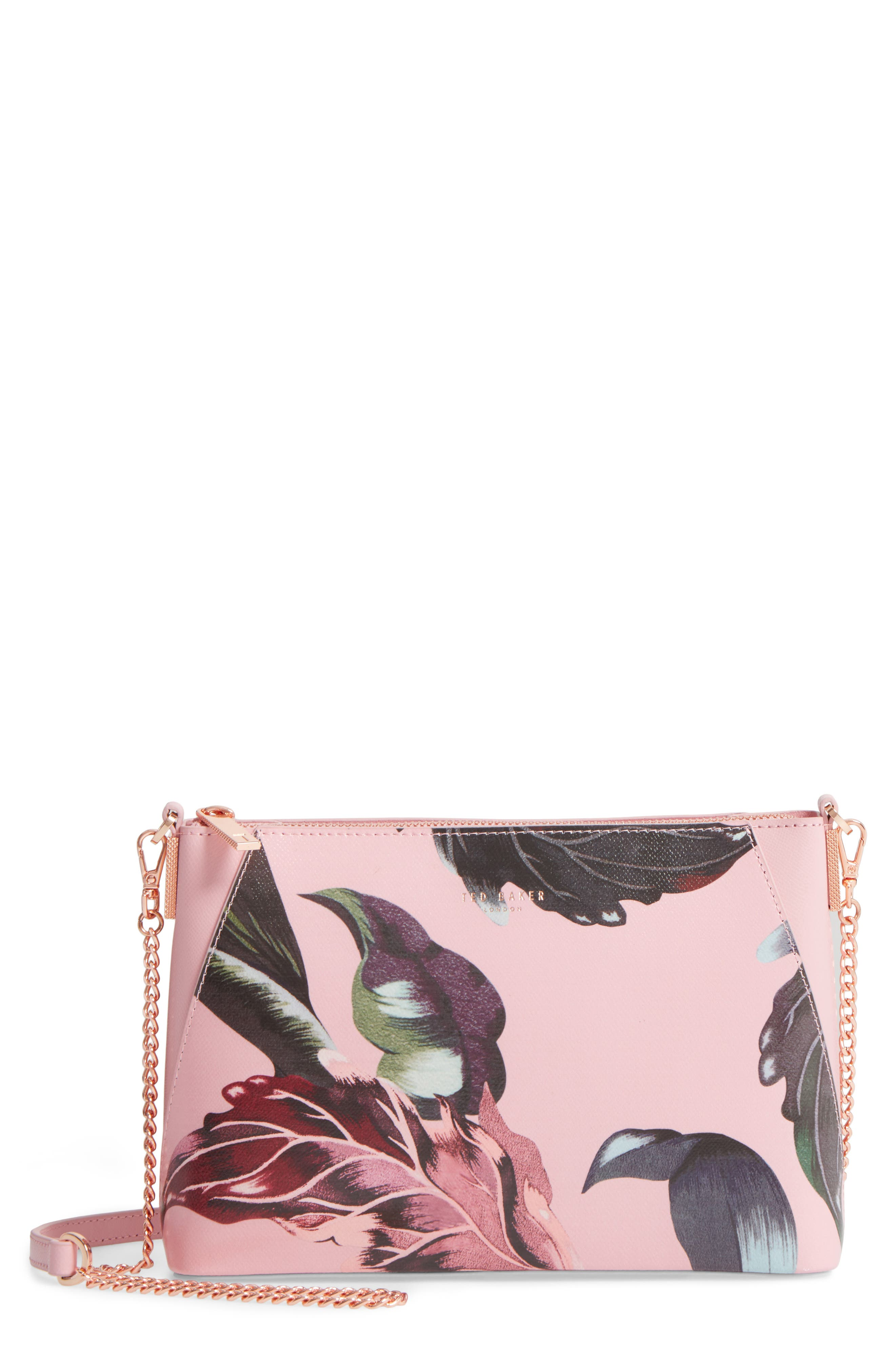 Julisa Eden Crossbody Bag,                         Main,                         color, Pale Pink