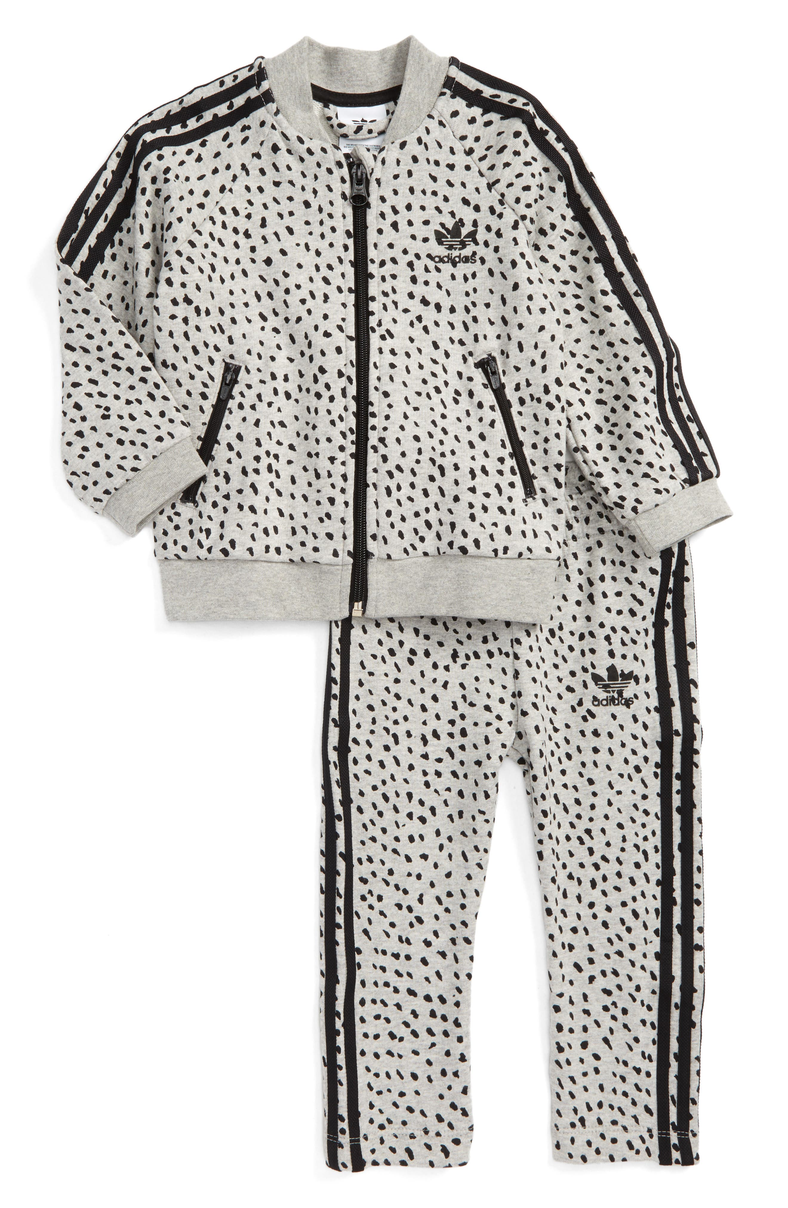Alternate Image 1 Selected - adidas Originals NMD Superstar Track Jacket & Pants Set (Baby)
