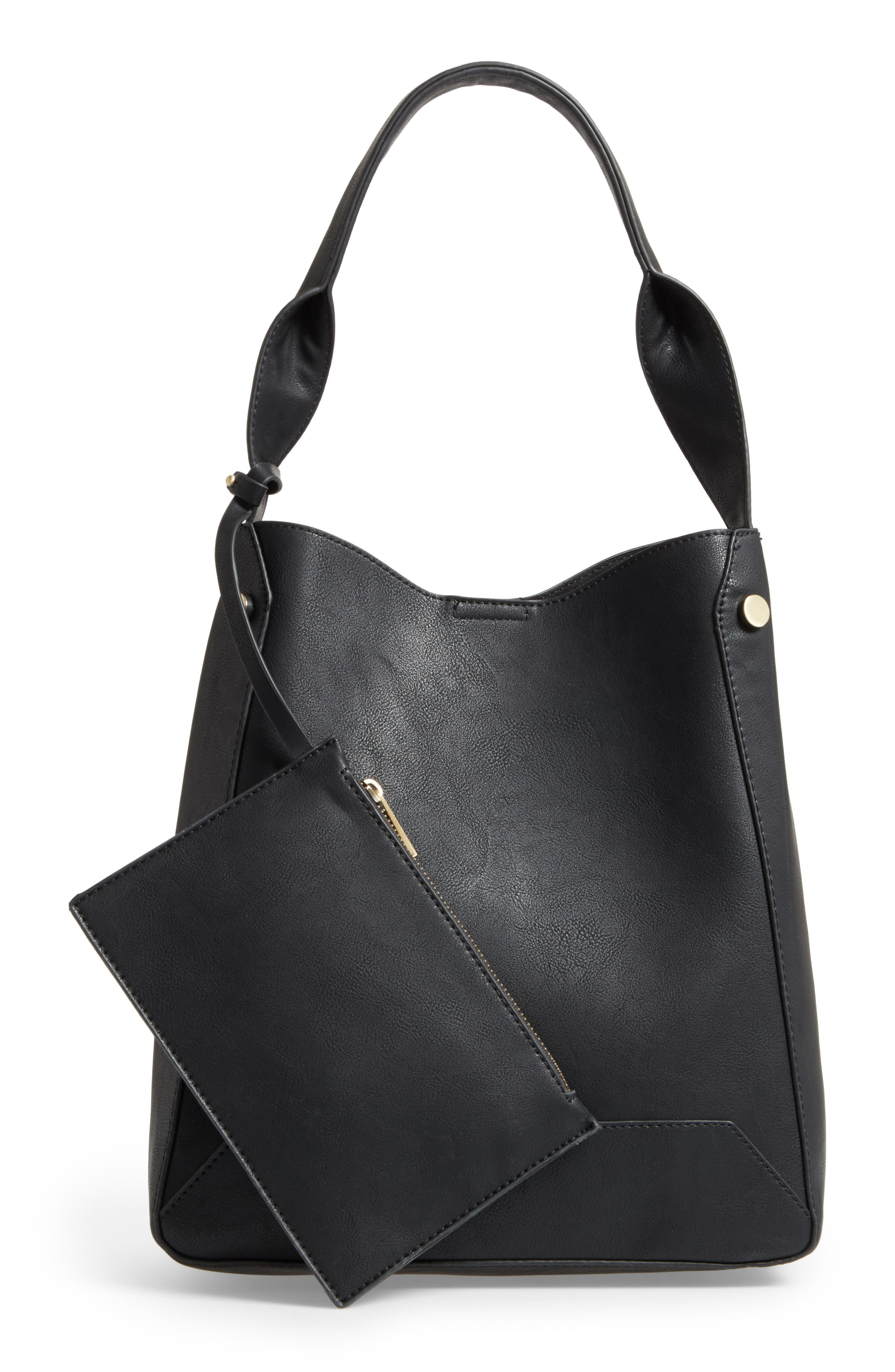 Alternate Image 2  - Sole Society Alani Faux Leather Shoulder Bag