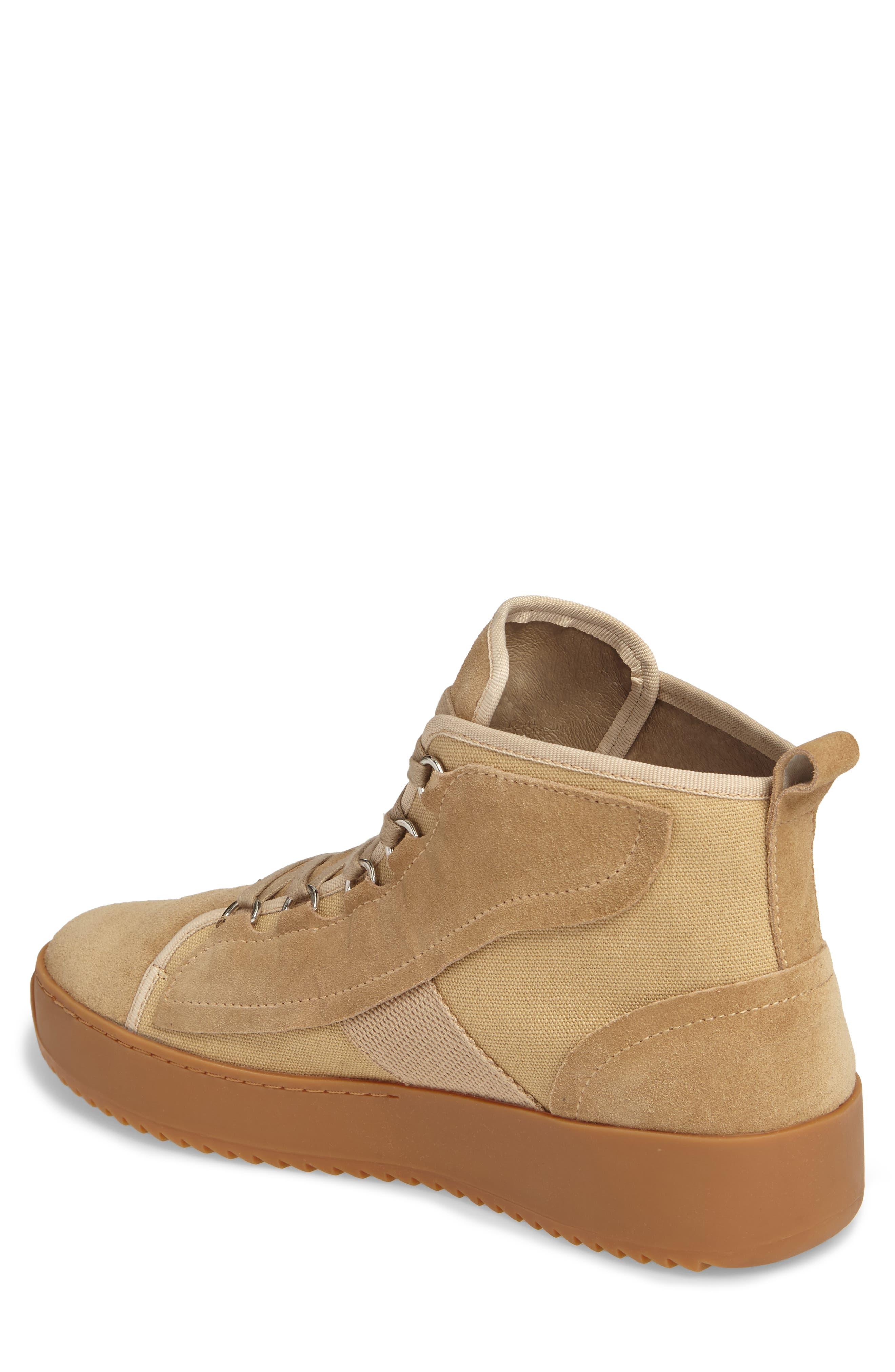 Sander Sneaker,                             Alternate thumbnail 2, color,                             Sand Suede