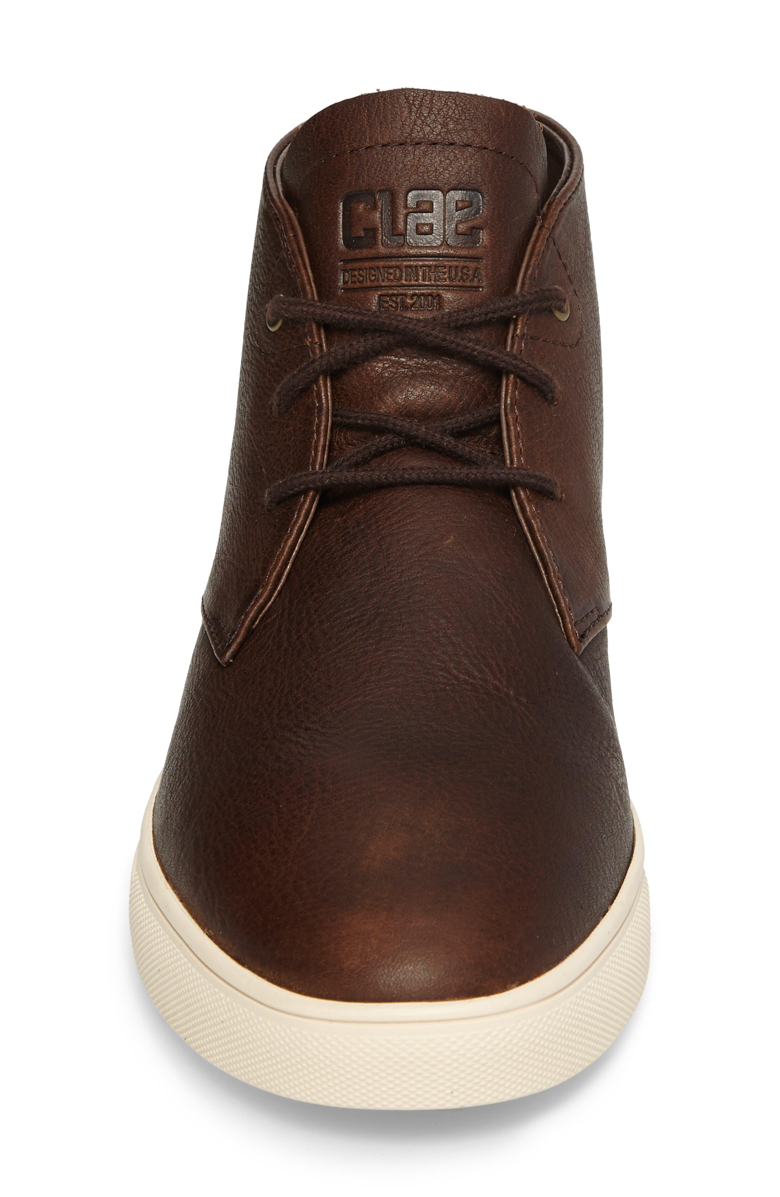 'Strayhorn SP' Chukka Boot,                             Alternate thumbnail 4, color,                             Cocoa Leather