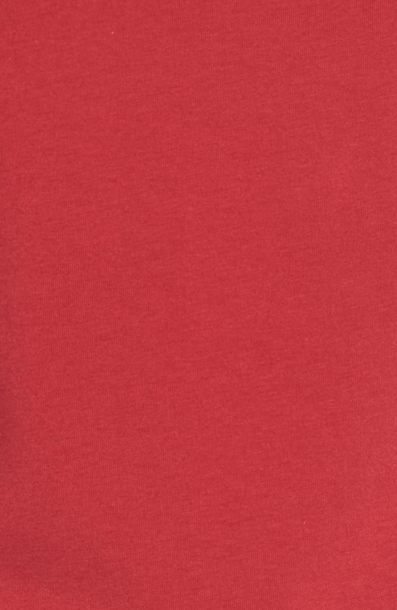 Alternate Image 5  - Halogen® Flare Sleeve Bateau Tee