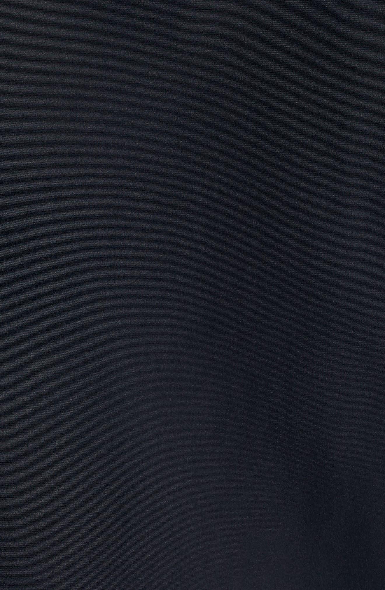 'Seven J' Waterproof & Windproof Jacket,                             Alternate thumbnail 5, color,                             Navy Blue