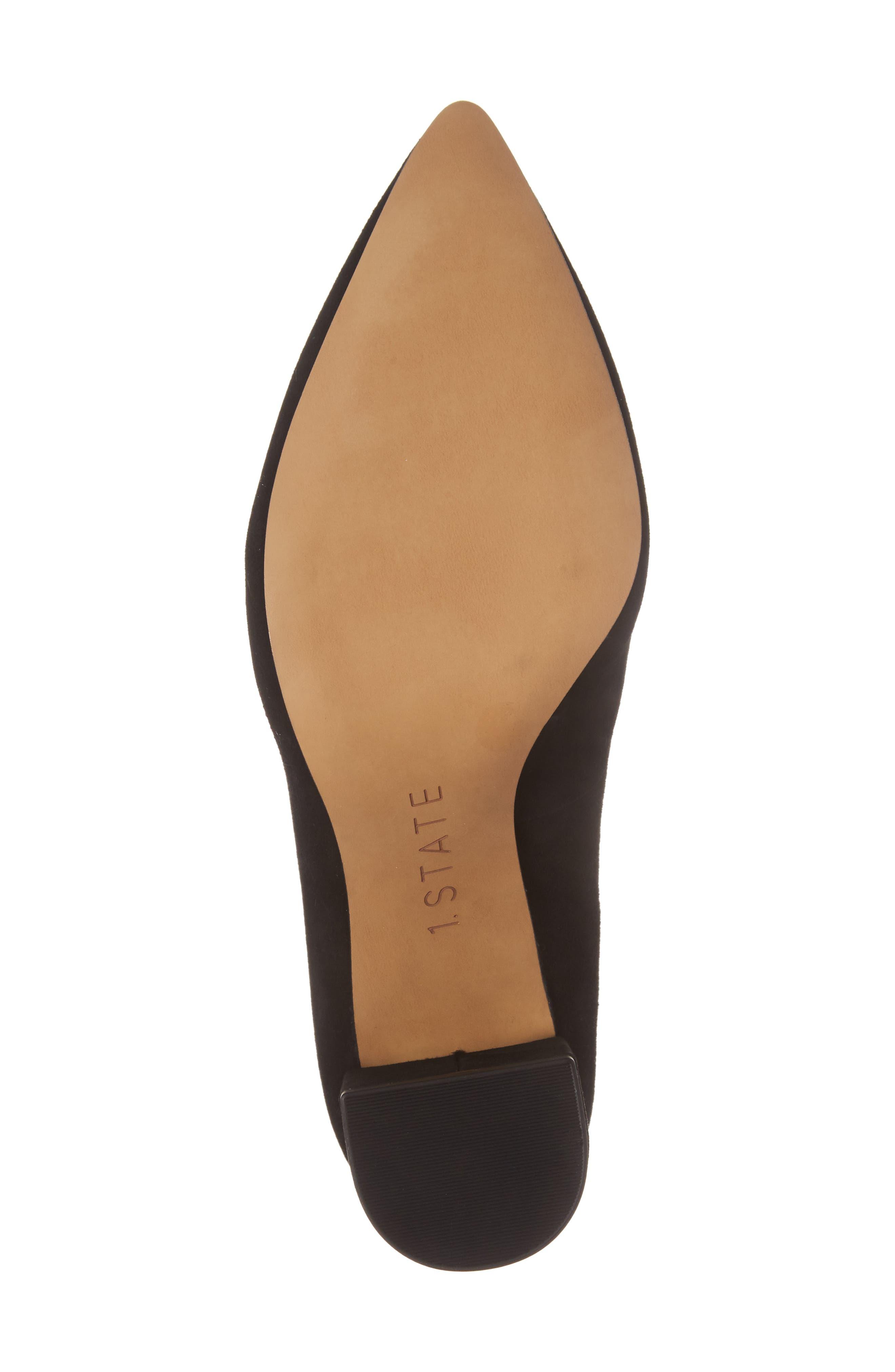 Alternate Image 6  - 1.STATE Saffy Block Heel Pump (Women)