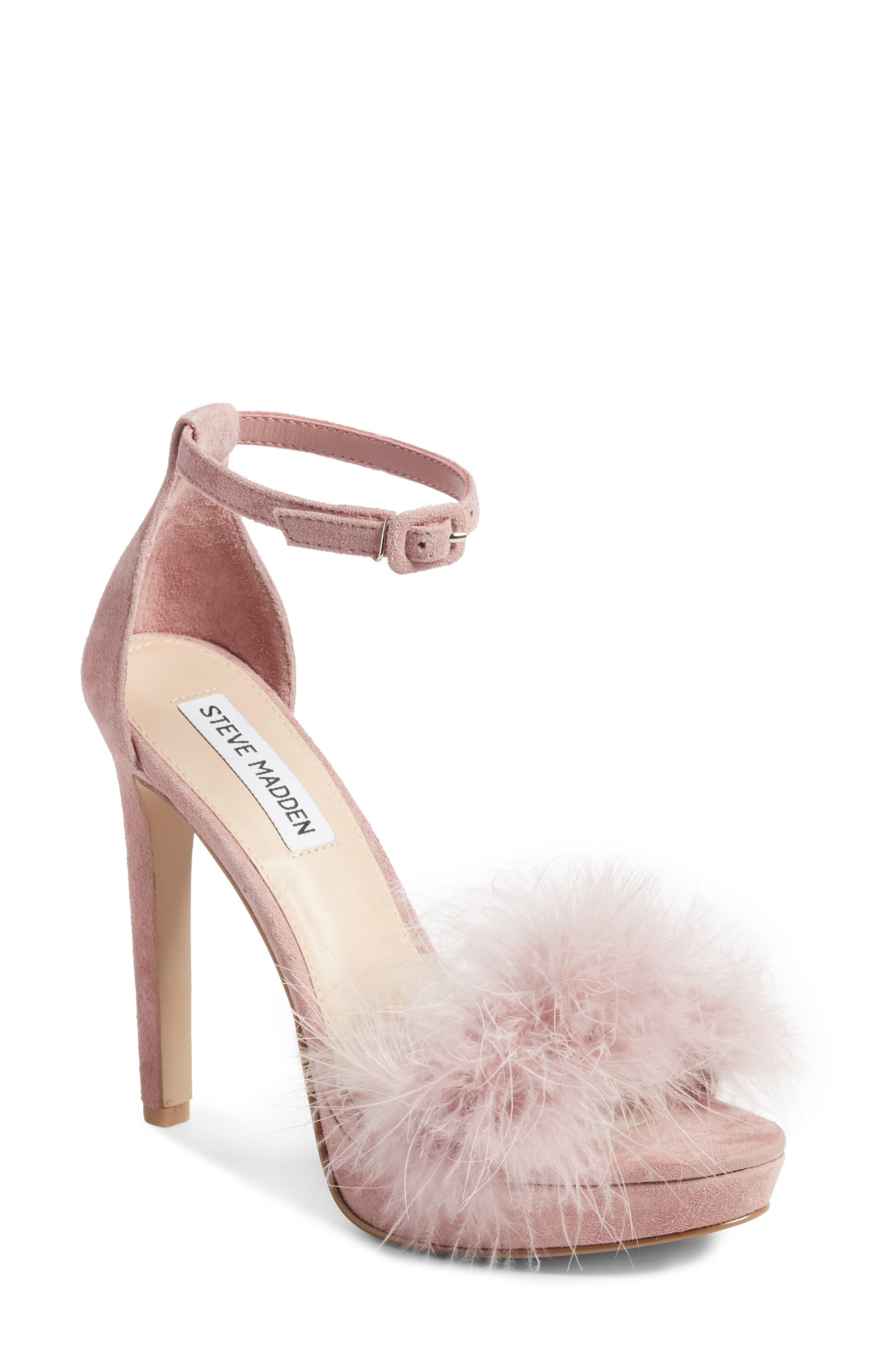 Alternate Image 1 Selected - Steve Madden Clutch Ankle Strap Sandal (Women)