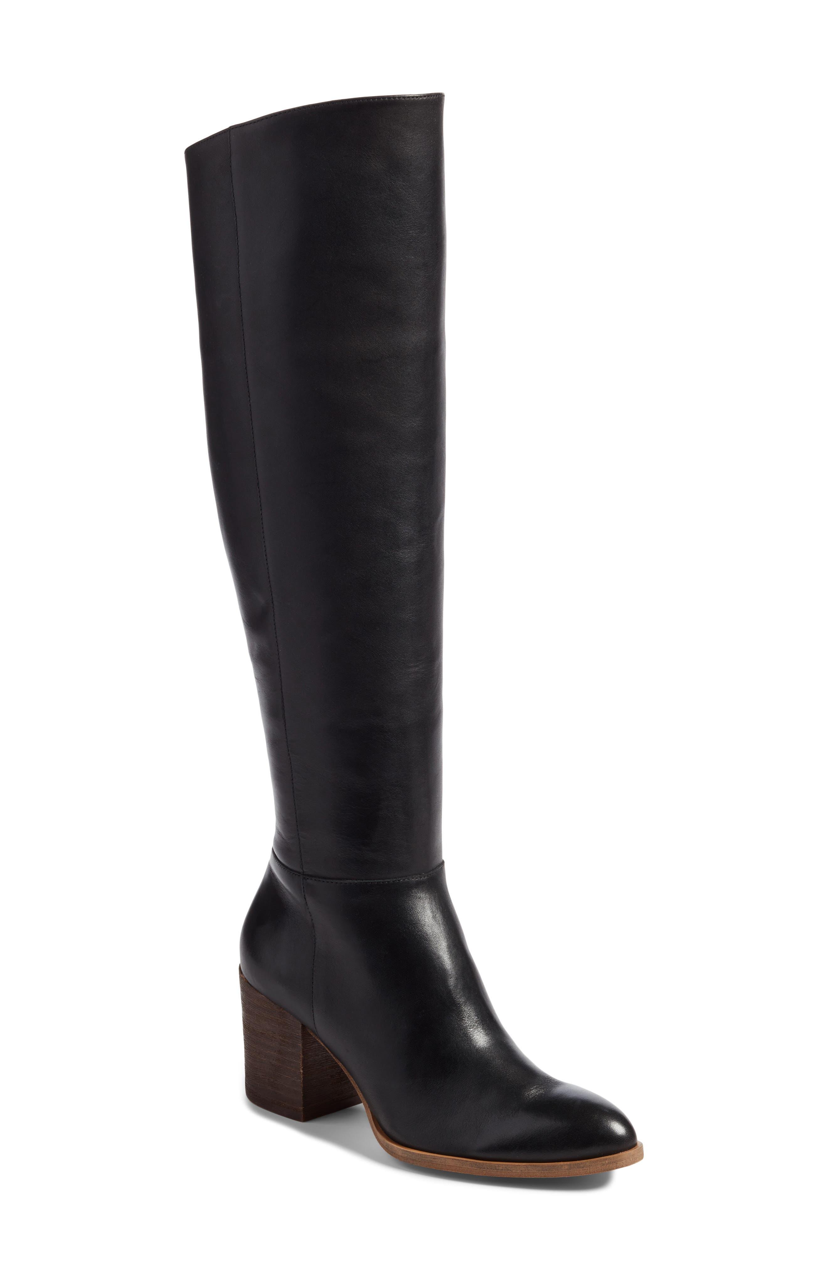Caslon® Mason Knee High Boot (Women)