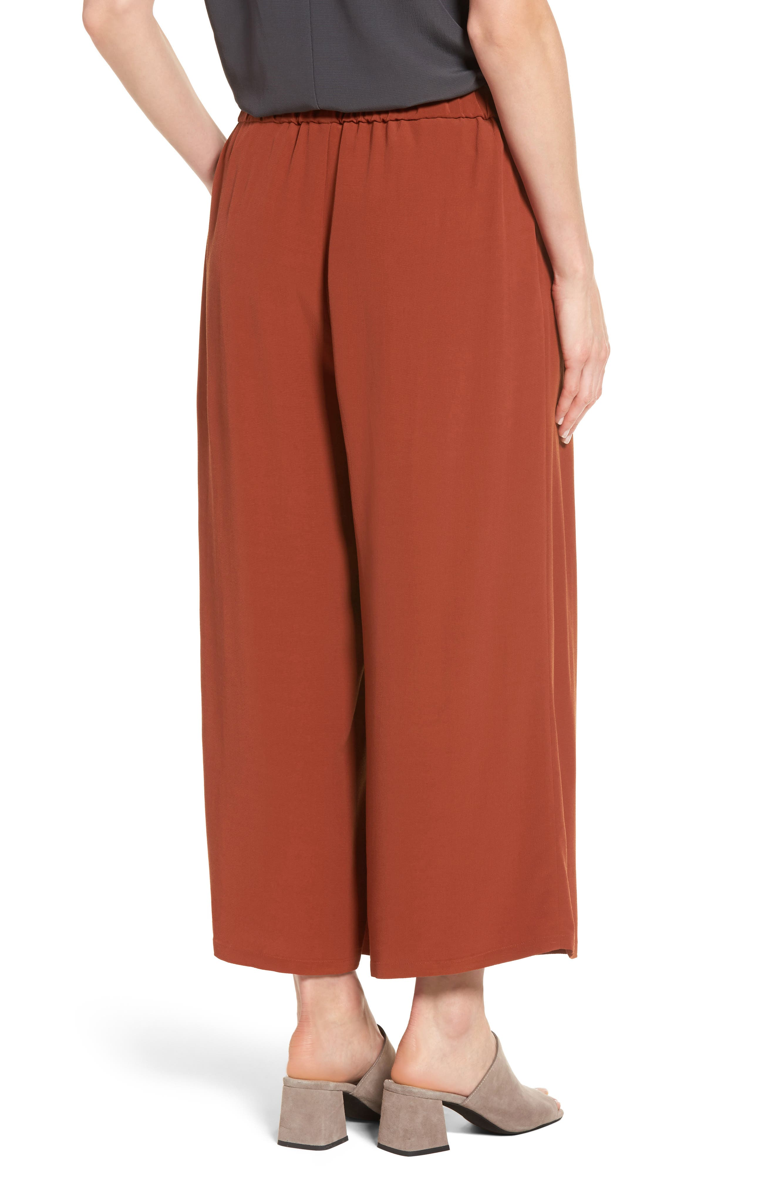 Alternate Image 2  - Eileen Fisher Wide Leg Pants (Regular & Petite)