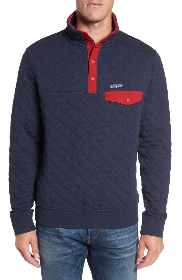 Patagonia Snap T Quilted Fleece Pullover Nordstrom