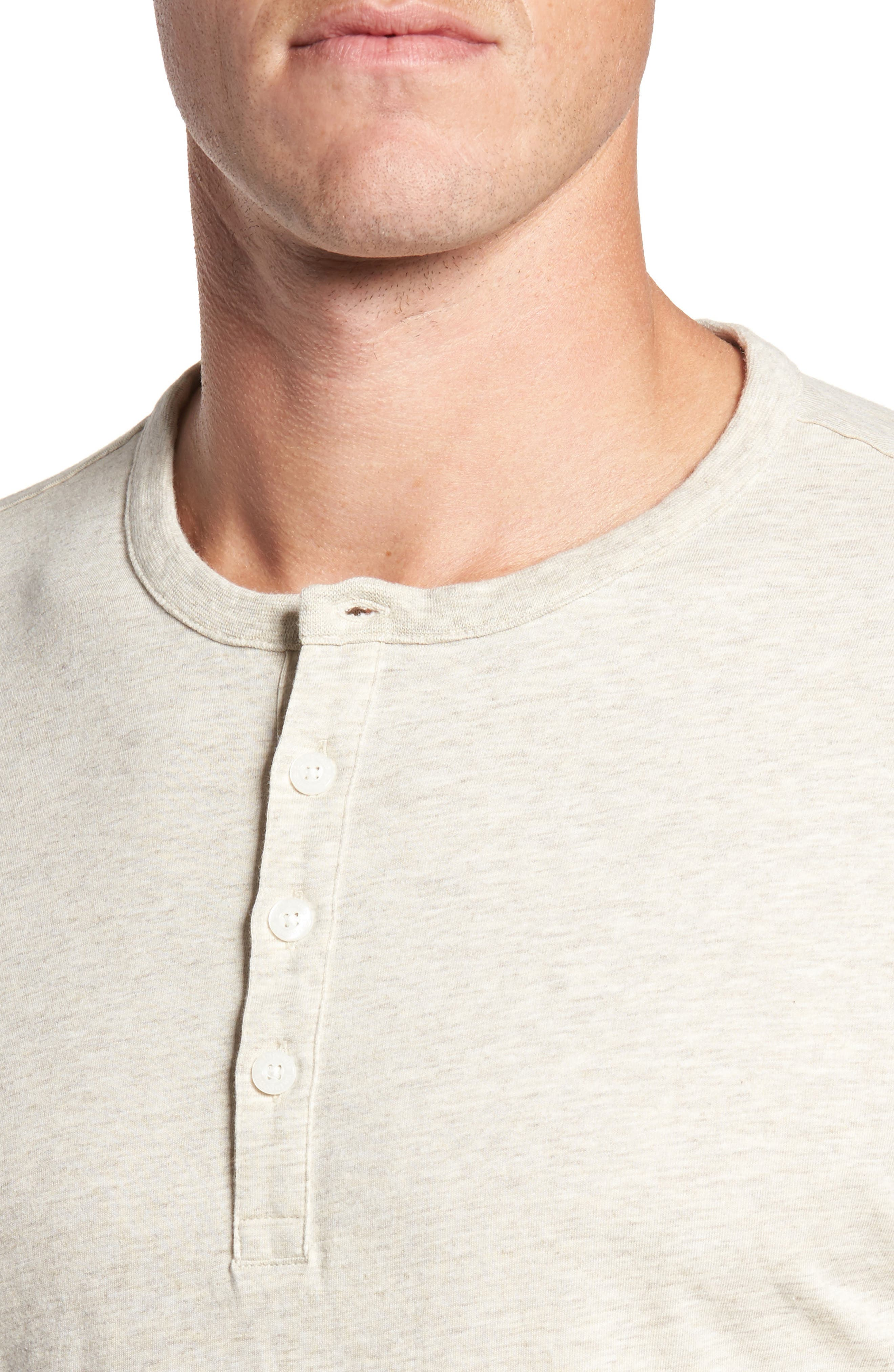 Alternate Image 4  - Patagonia 'Daily' Long Sleeve Organic Cotton Henley