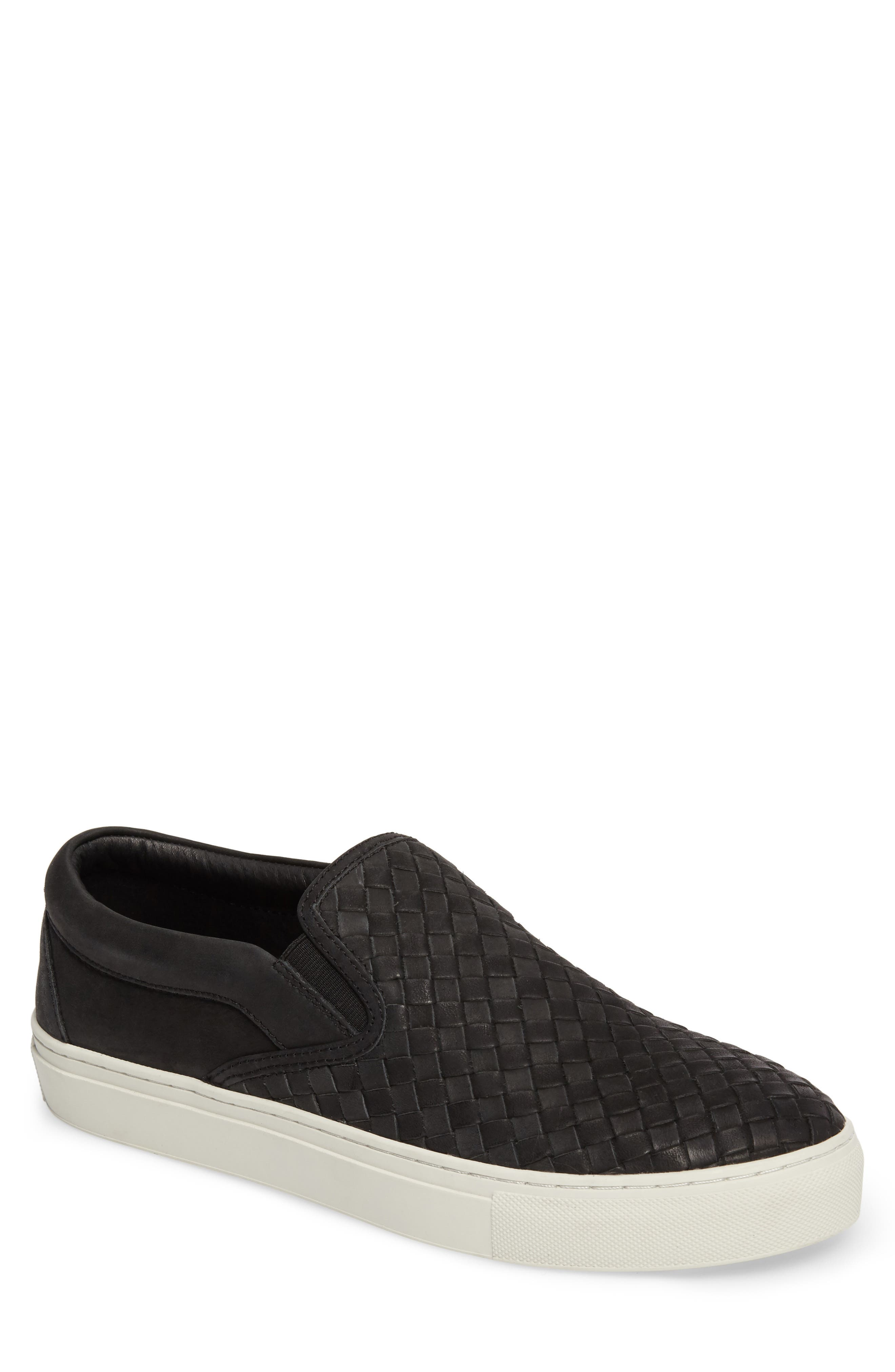 Dawson Slip-On,                         Main,                         color, Black Leather