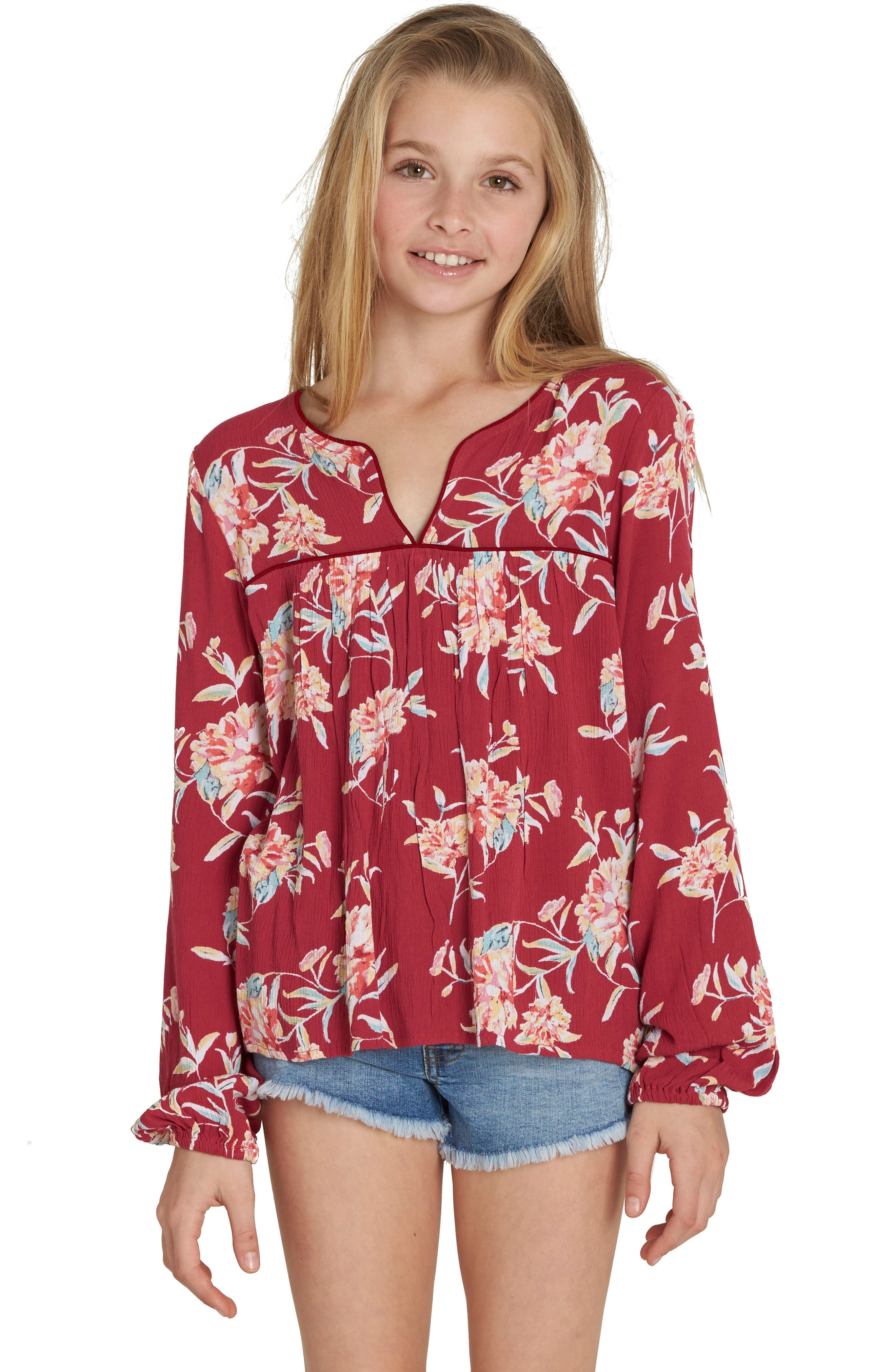 Billabong Far Off Adventures Tunic (Little Girls & Big Girls)