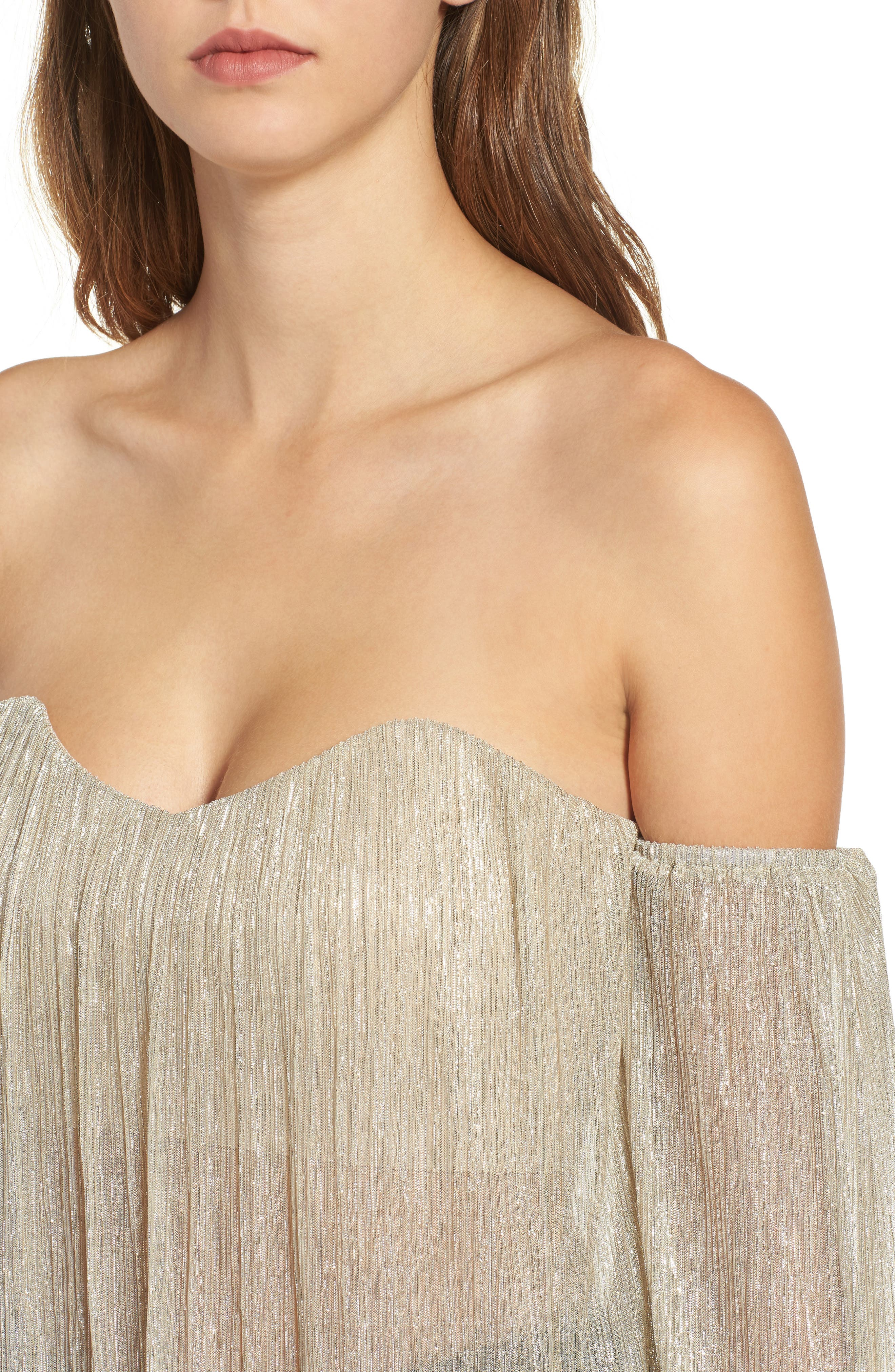 Alternate Image 4  - 4SI3NNA Off the Shoulder Top