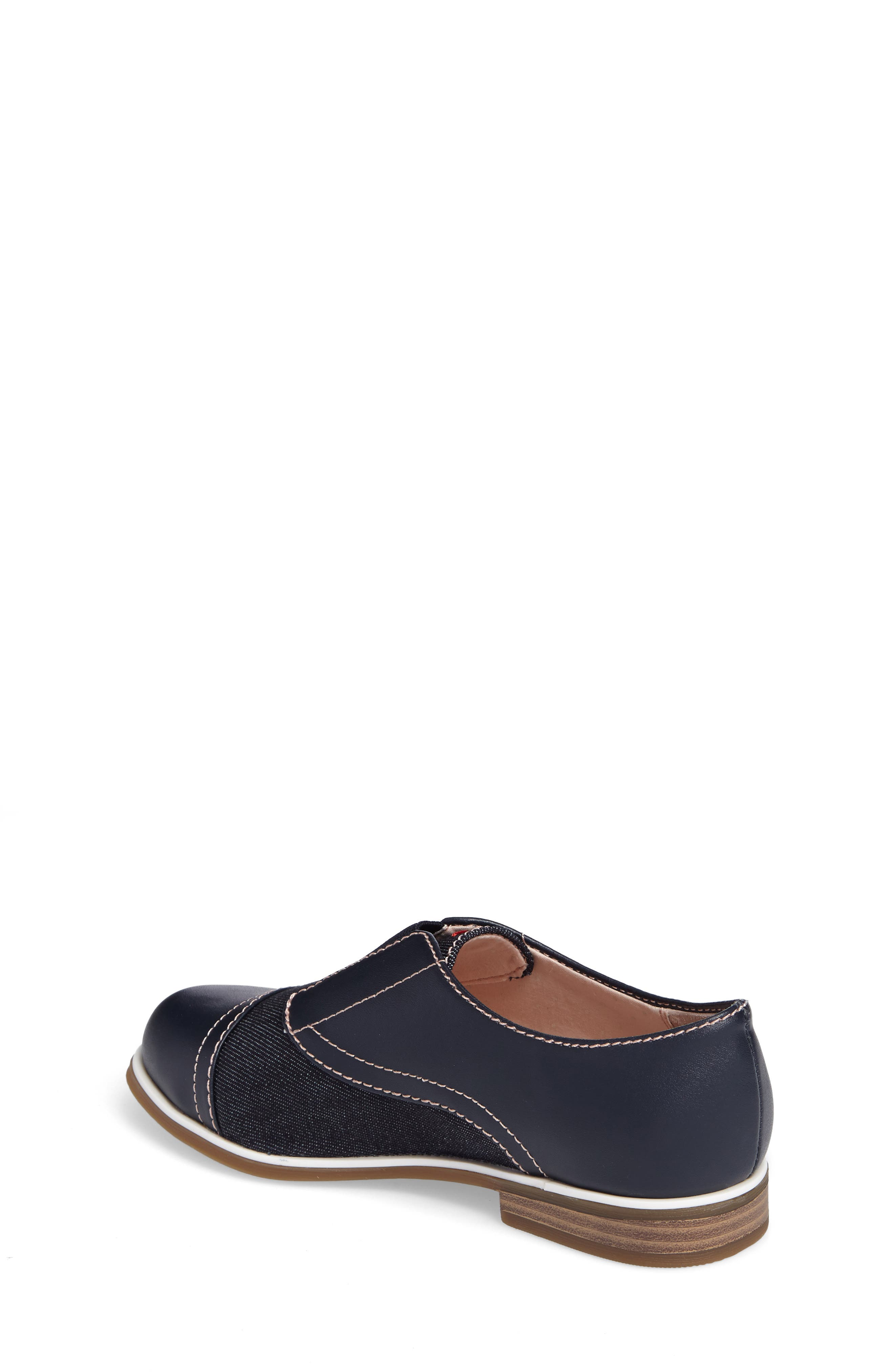 Alternate Image 2  - ED Ellen Degeneres Kassie Laceless Cap Toe Oxford (Toddler, Little Kid & Big Kid)