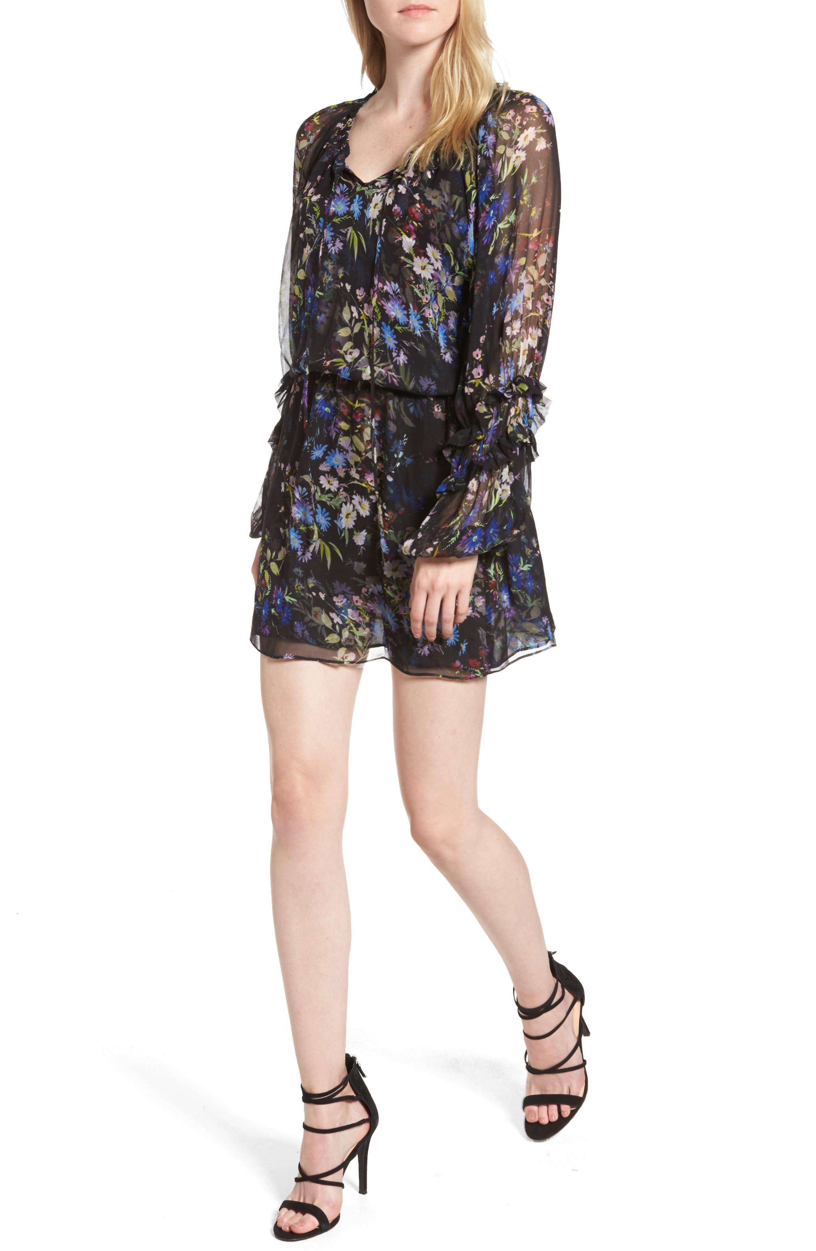 Parker Nicole Silk Dress