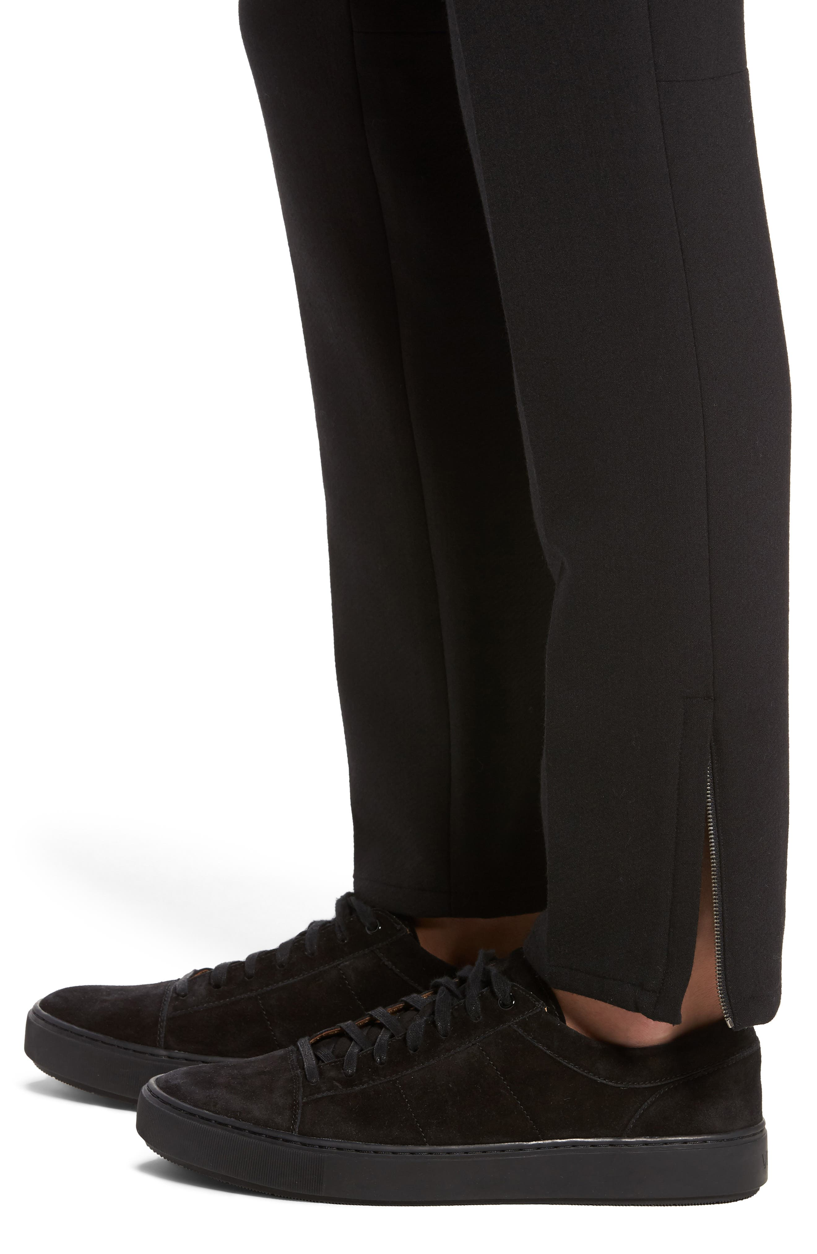 Alternate Image 4  - Vince Zip Hem Slim Fit Trousers