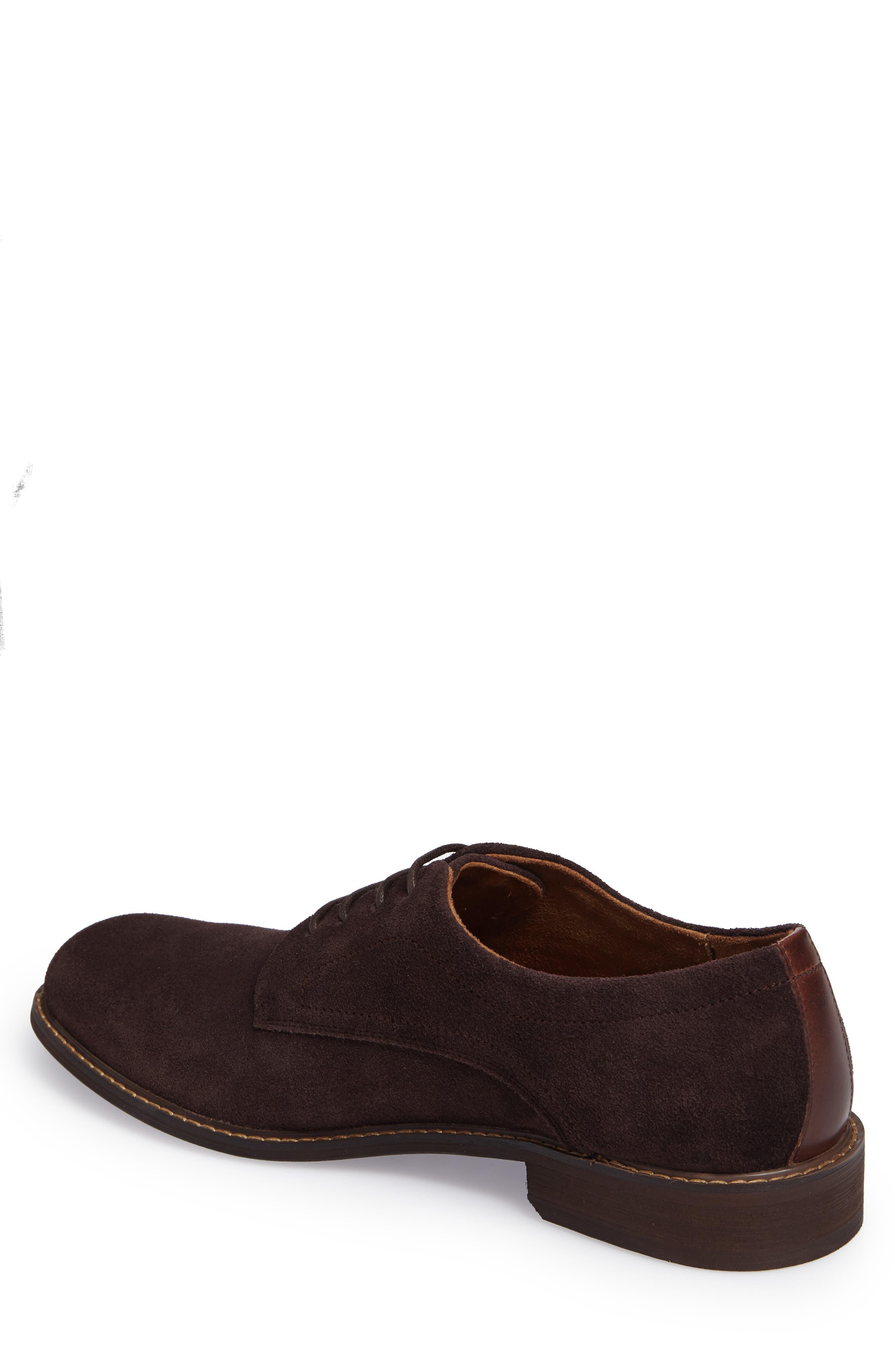 Buck Shoe,                             Alternate thumbnail 2, color,                             Chocolate Suede
