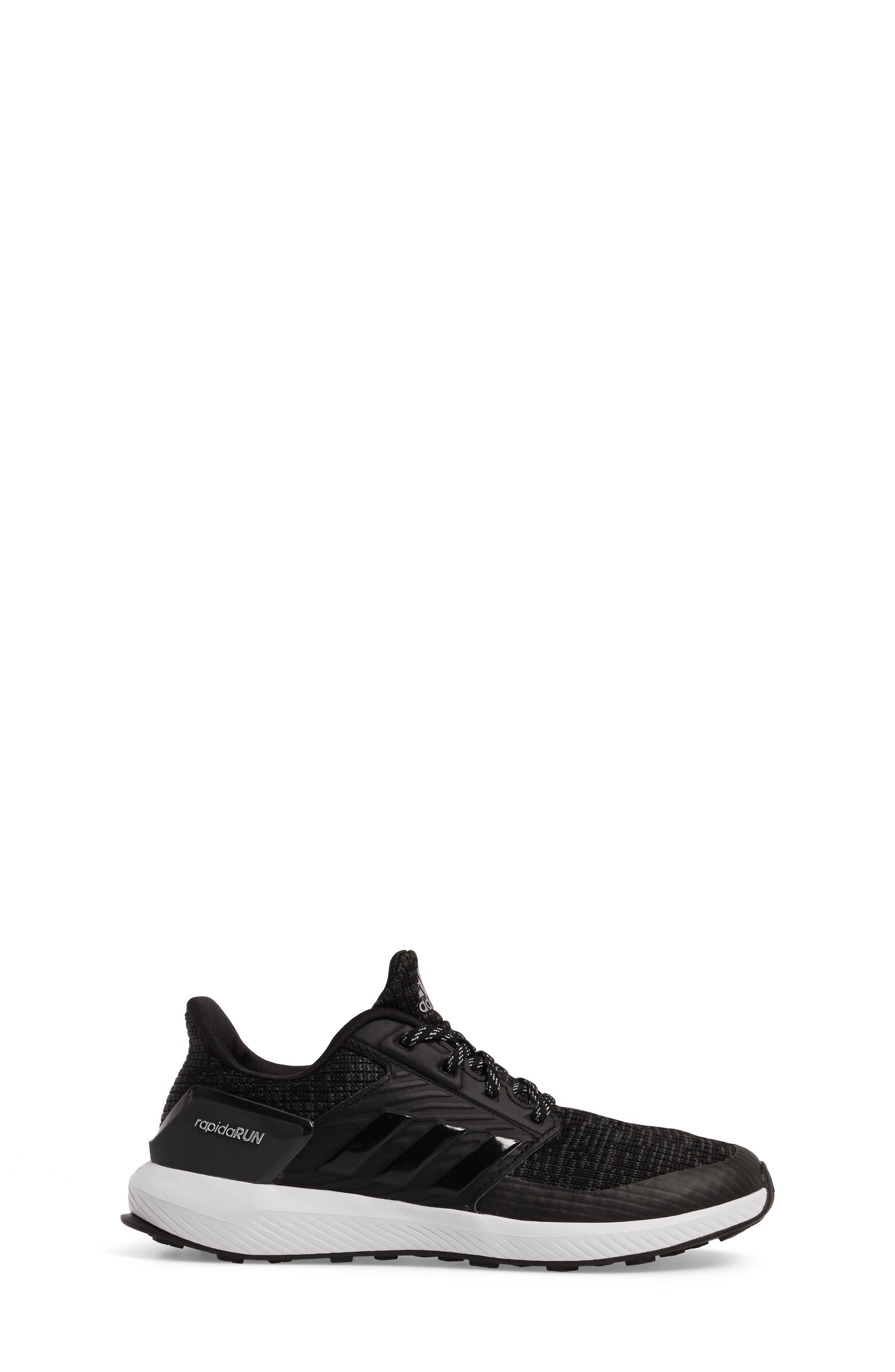 Alternate Image 3  - adidas RapidaRUN Lux Sneaker (Toddler & Little Kid)