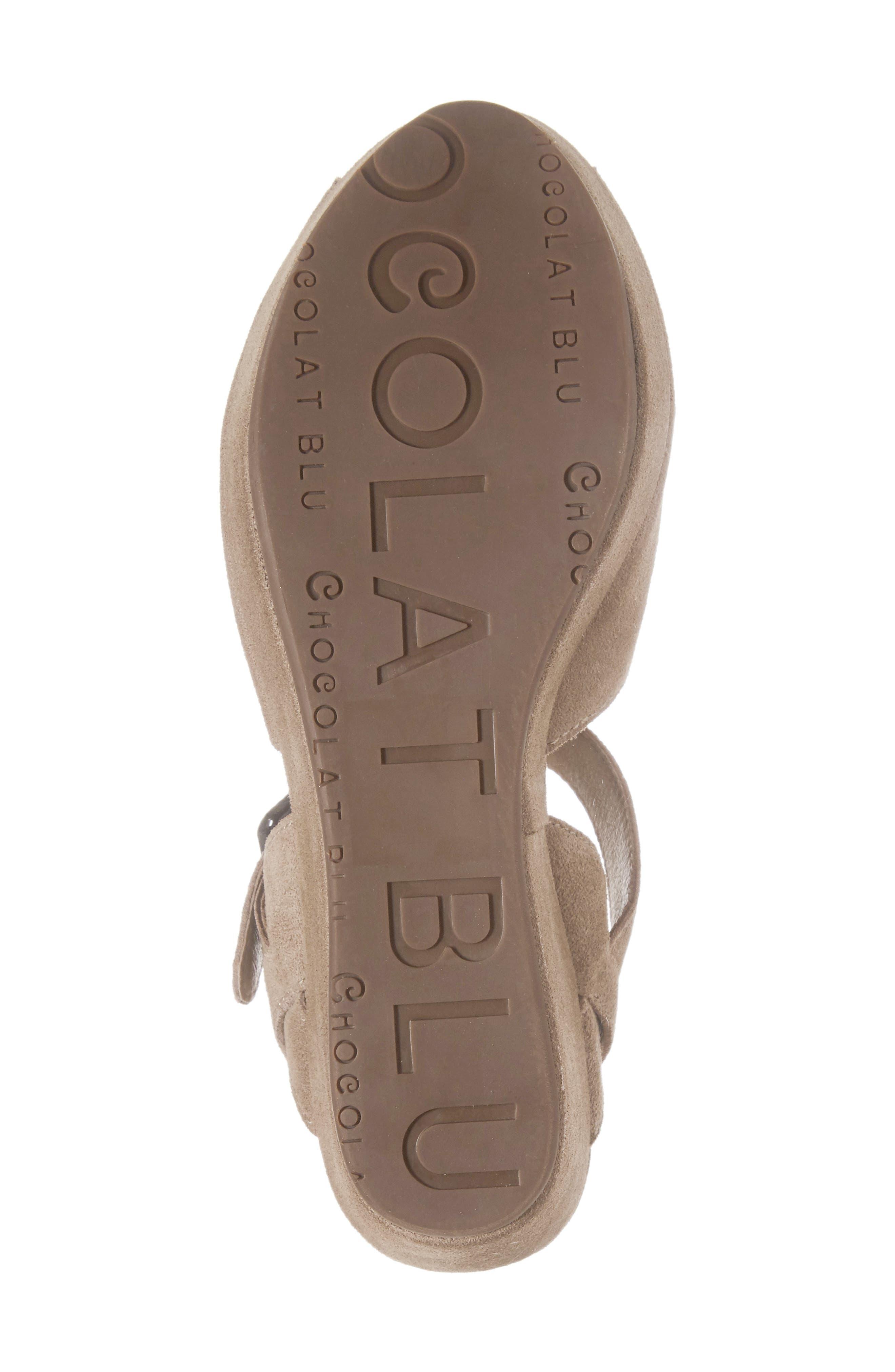 Alternate Image 6  - Chocolat Blu Wagga Platform Wedge Sandal (Women)