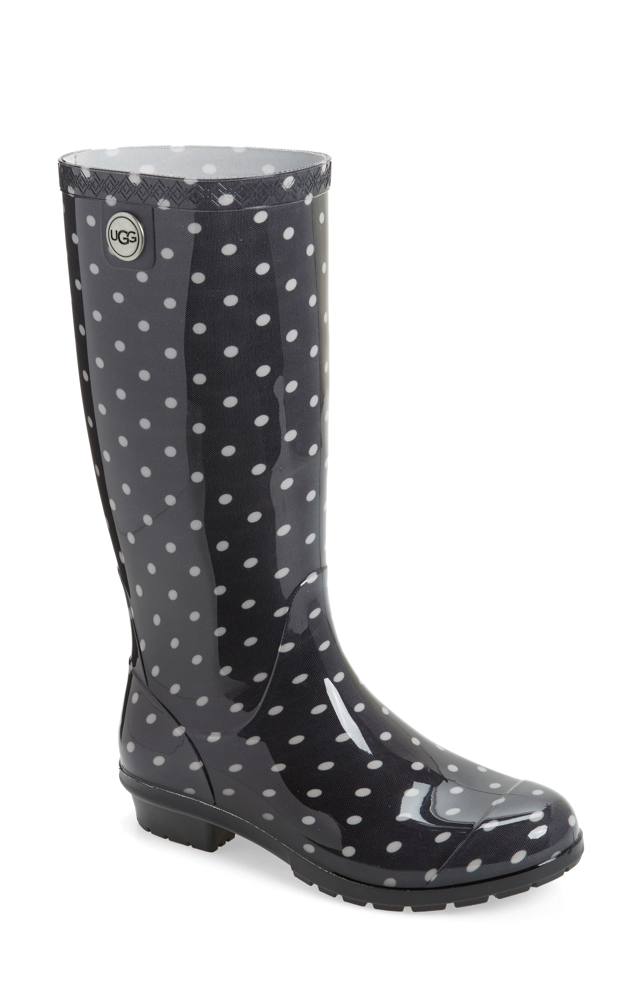 UGG<SUP>®</SUP> Shaye Polka Dot Rain Boot