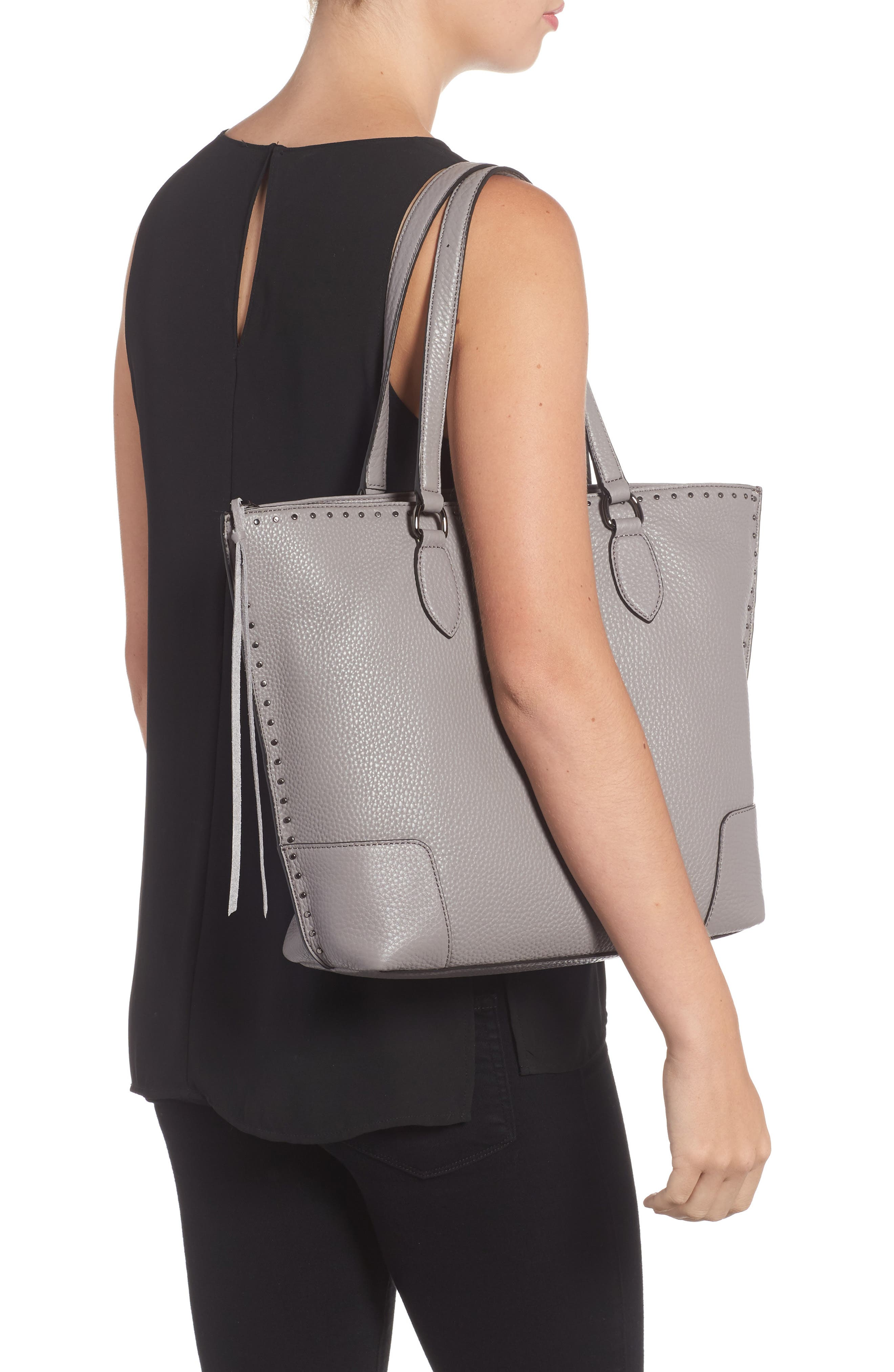 Alternate Image 2  - Rebecca Minkoff Moonwalking Leather Tote