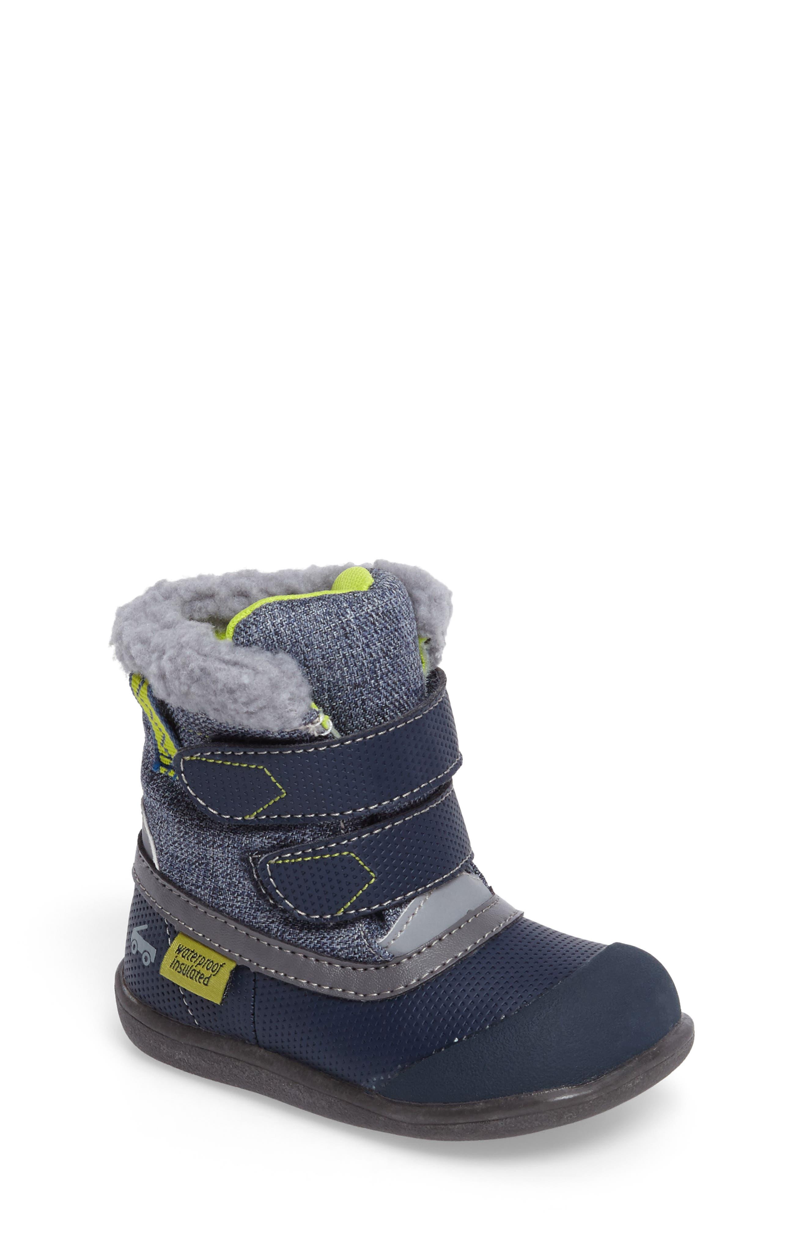 See Kai Run Charlie Waterproof Insulated Boot (Baby, Walker, Toddler & Little Kid)