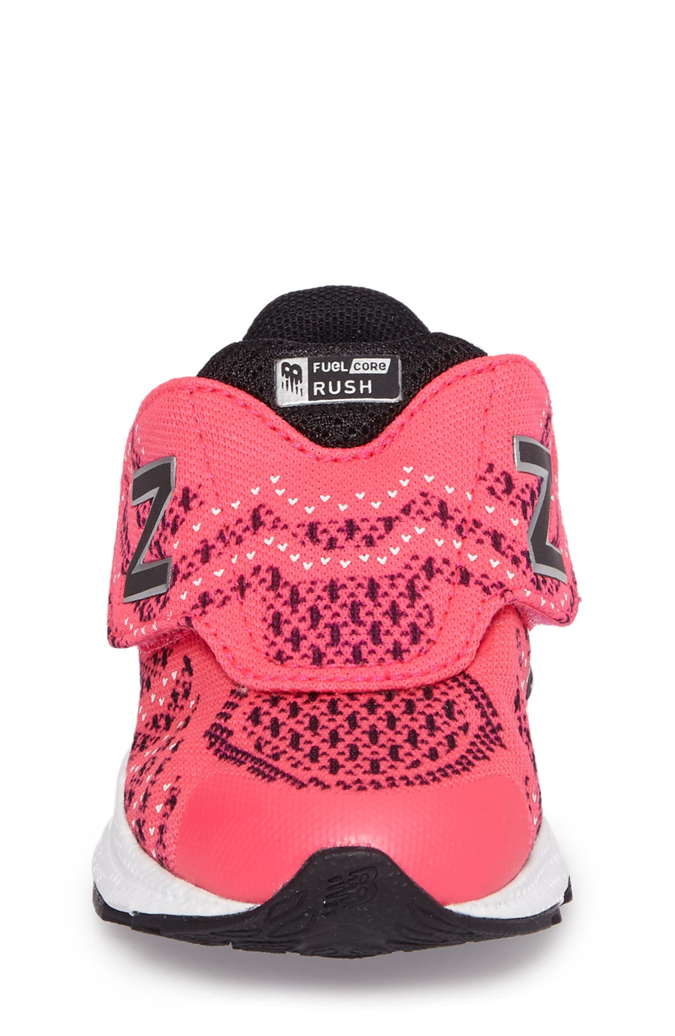 FuelCore Rush v3 Knit Sneaker,                             Alternate thumbnail 4, color,                             Pink