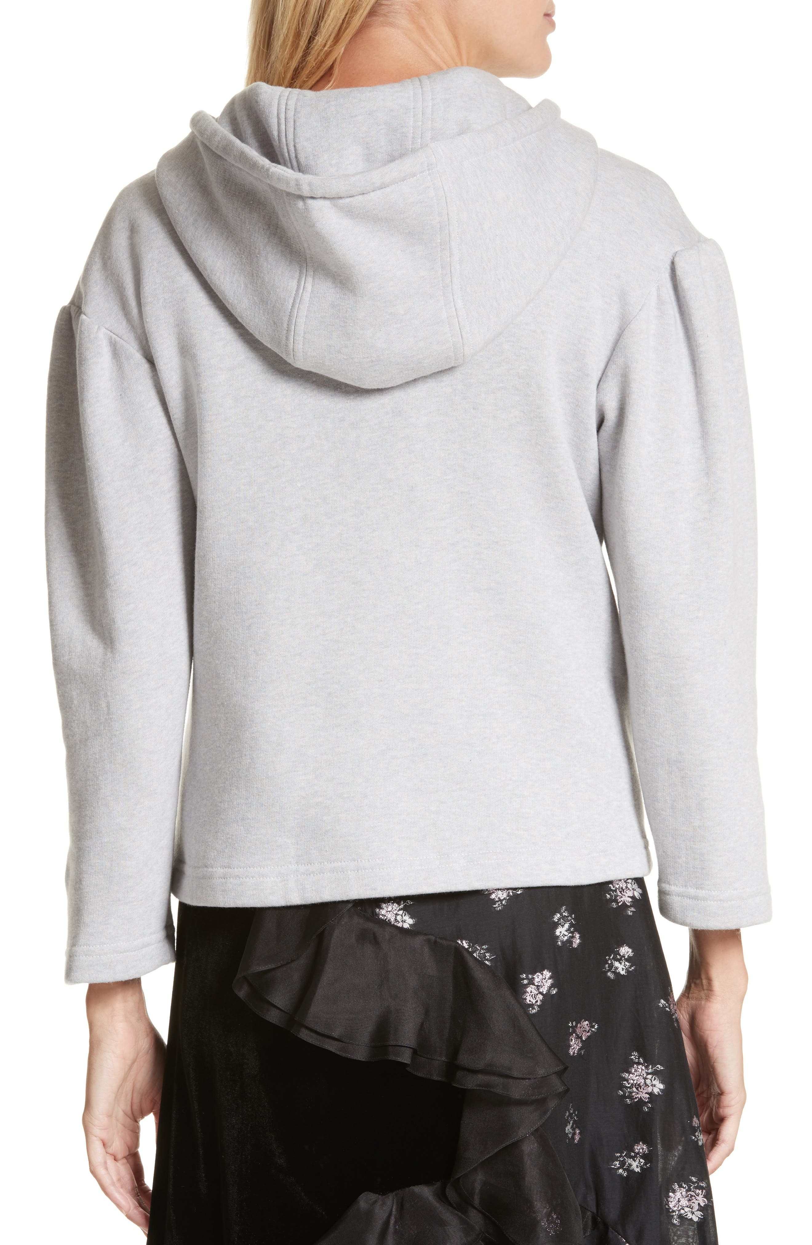 Alternate Image 3  - Rebecca Taylor Embroidered Hoodie