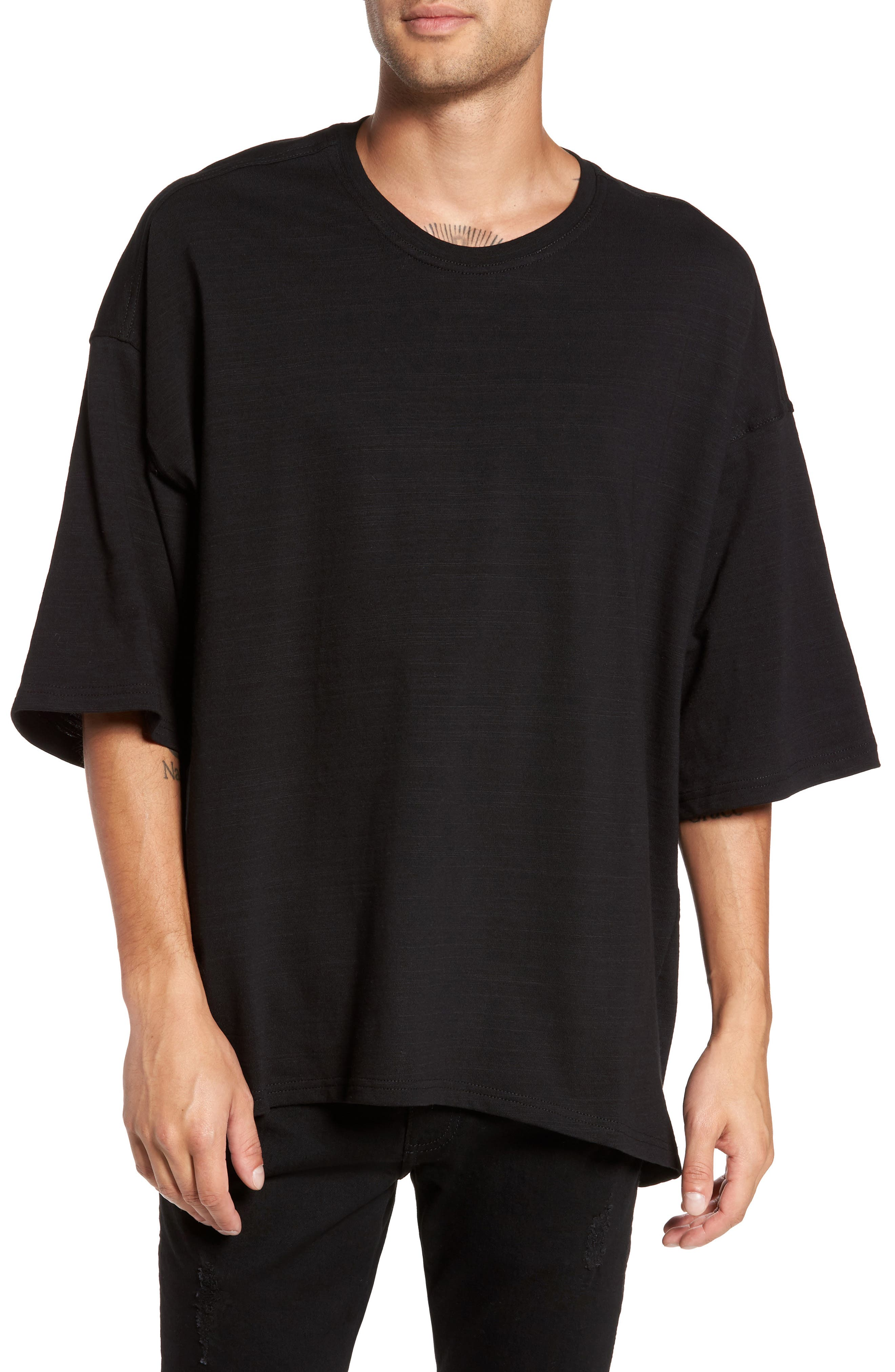 Main Image - Represent Relaxed Fit Crewneck T-Shirt