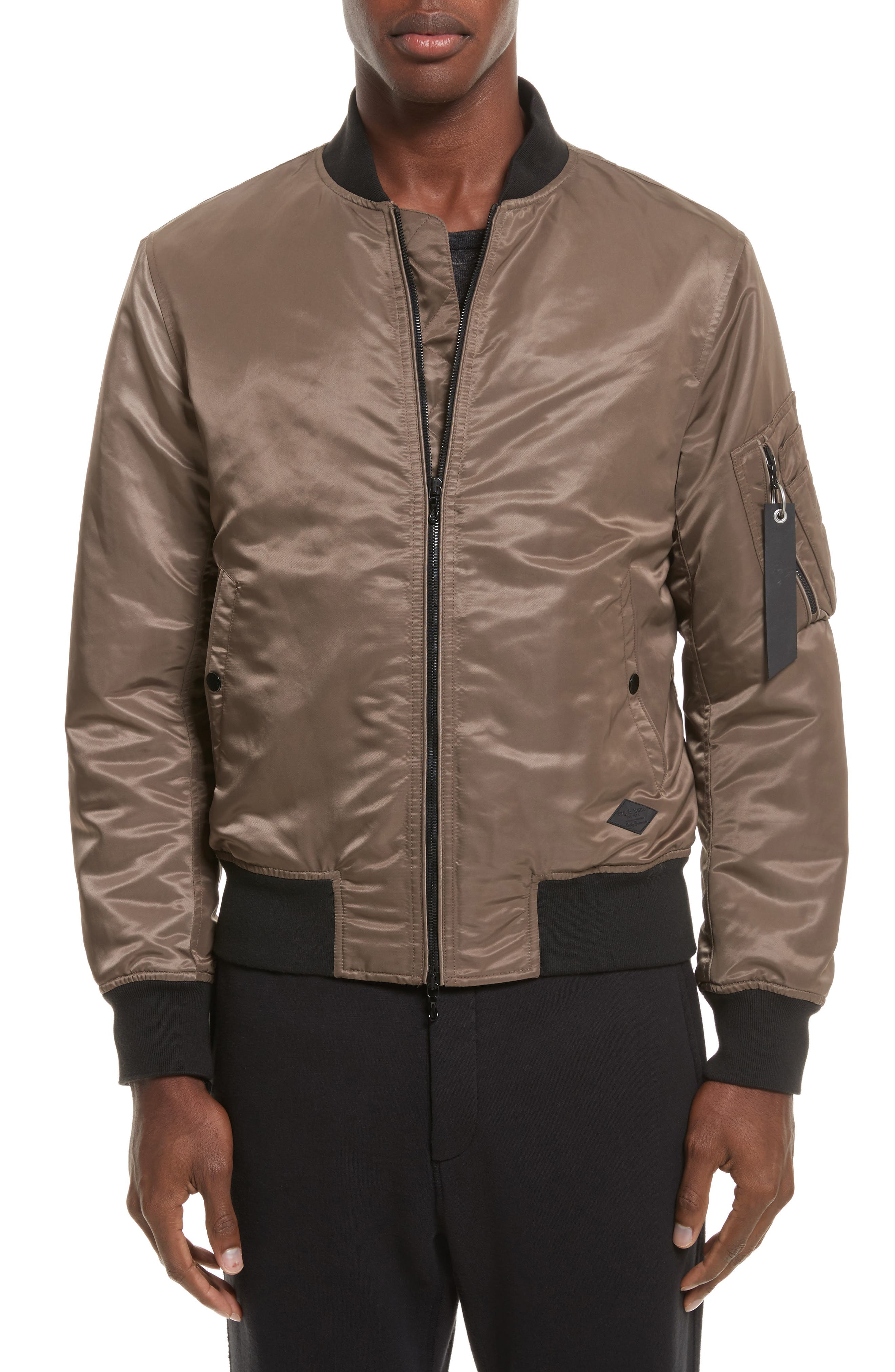 Alternate Image 1 Selected - rag & bone Manston Bomber Jacket