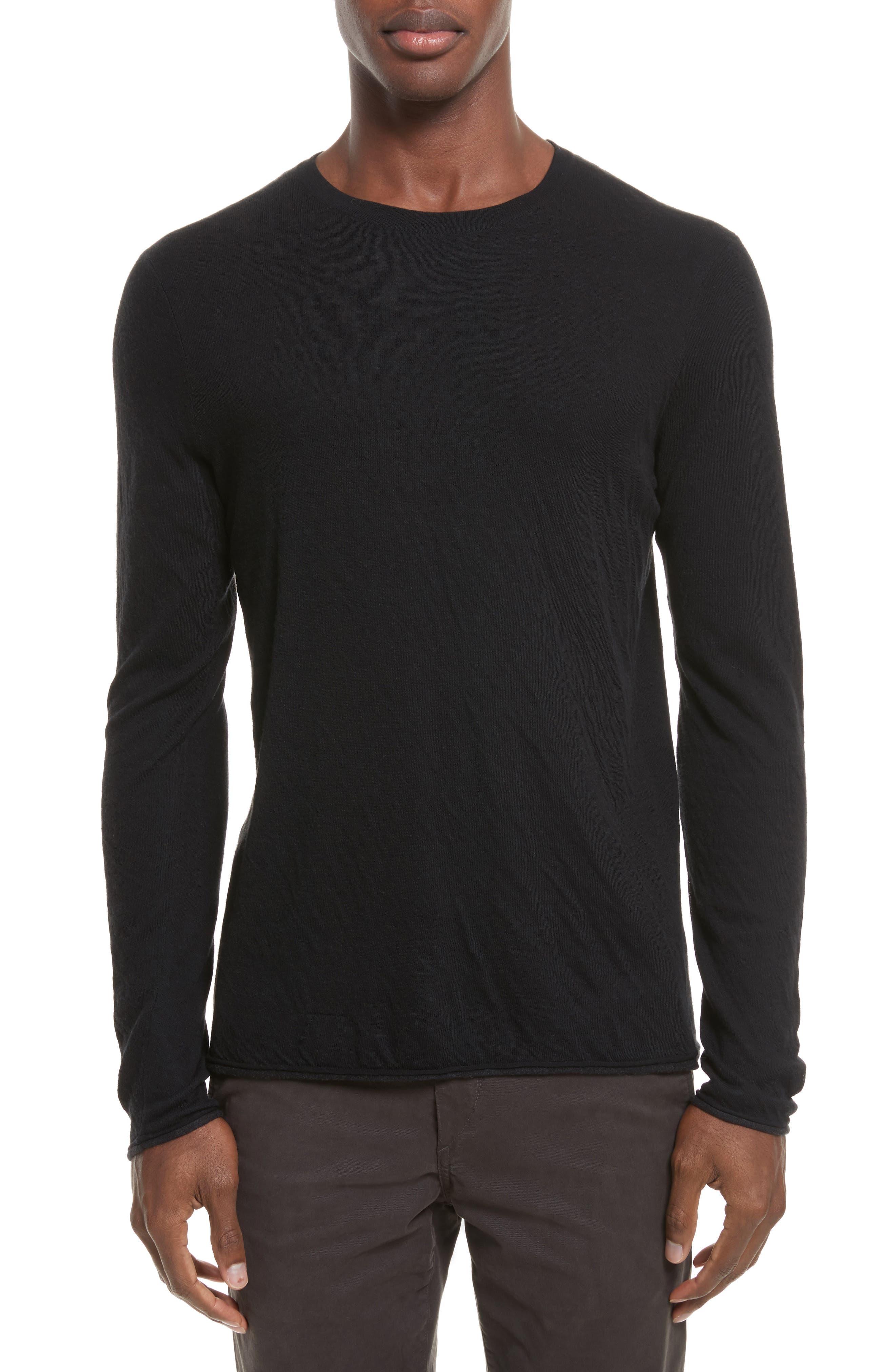 Tripp Crewneck Sweater,                         Main,                         color, Black