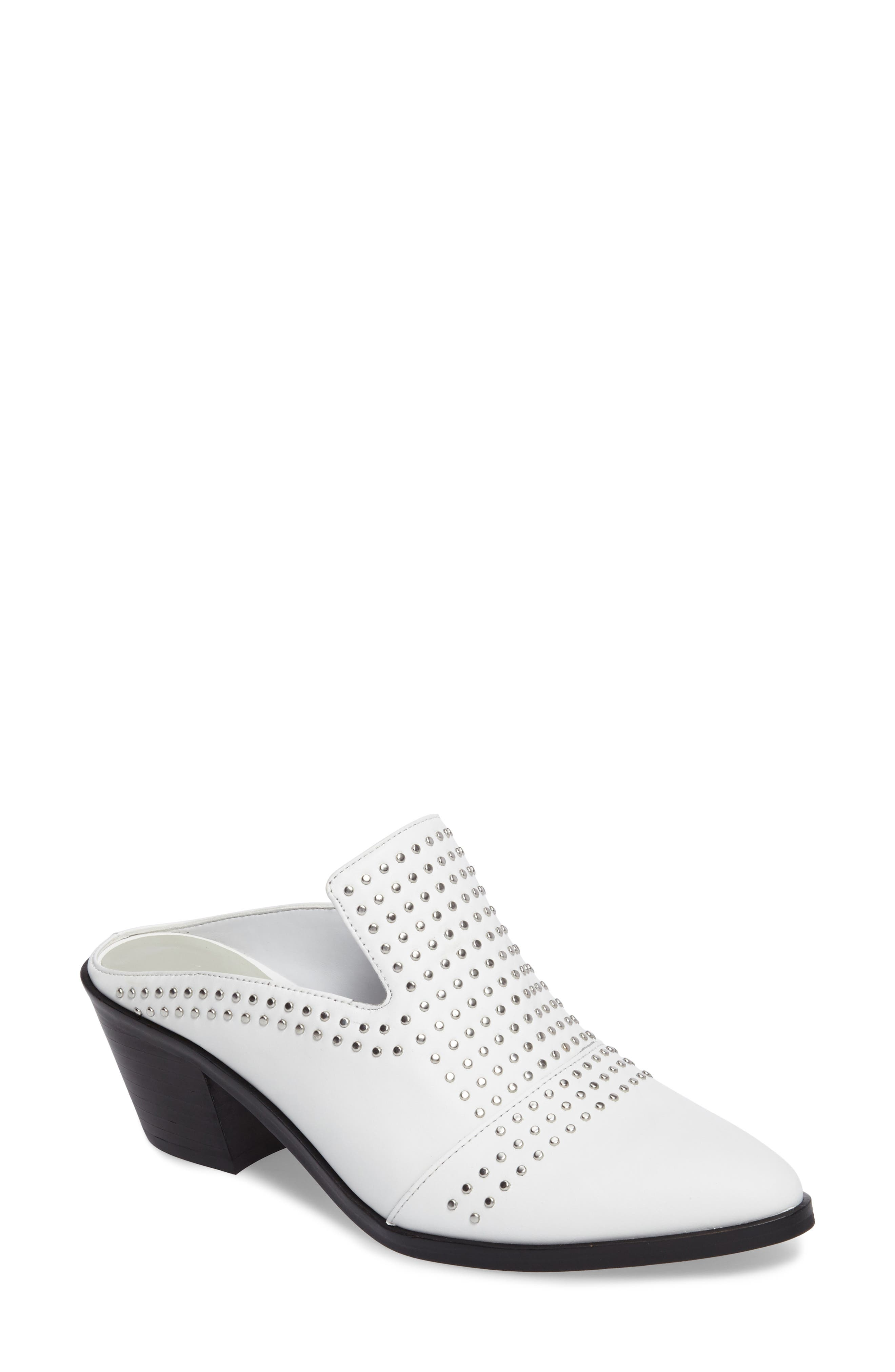 Alternate Image 1 Selected - 1.STATE Lon Studded Loafer Mule (Women)
