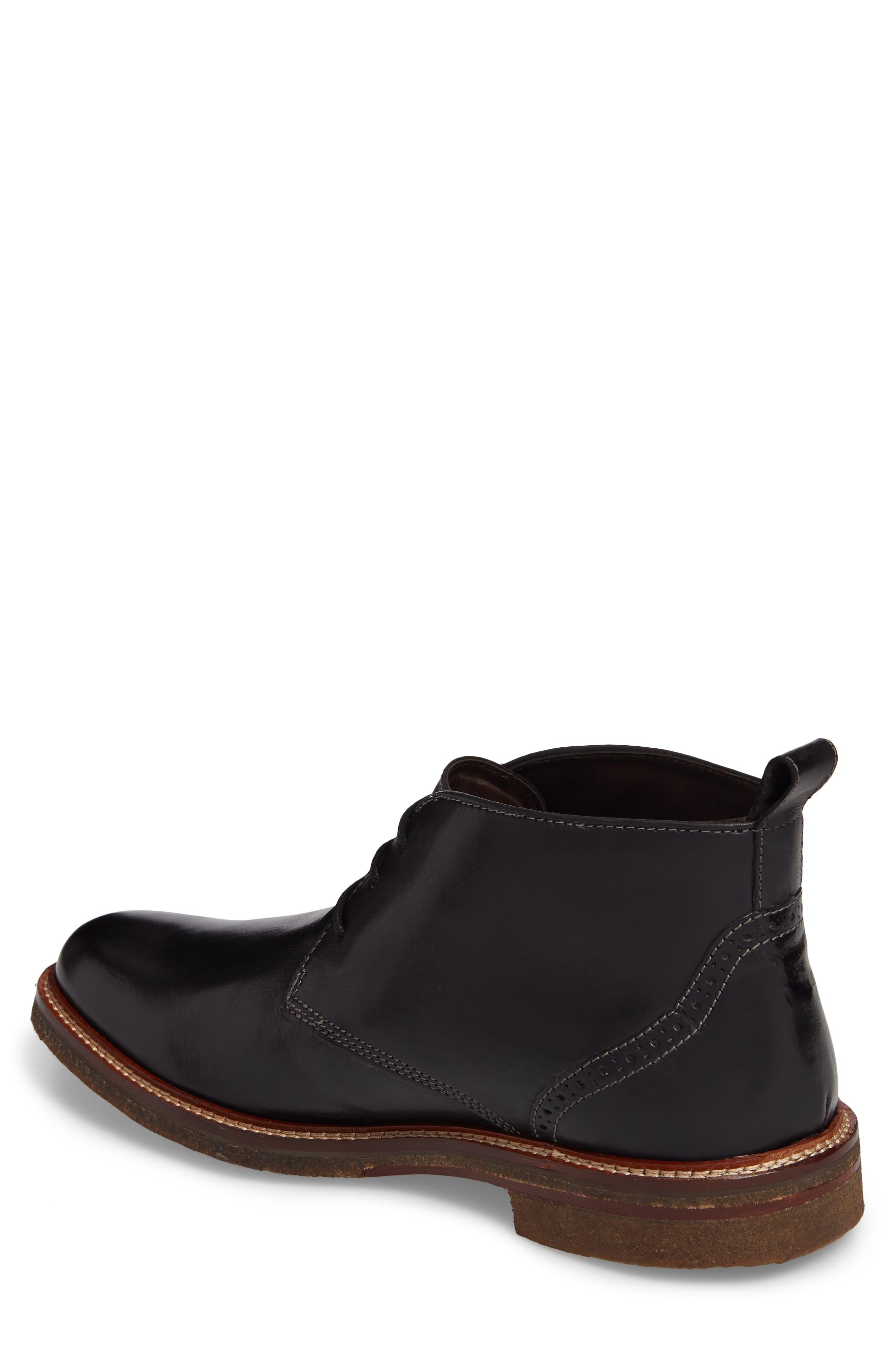 Forrester Chukka Boot,                             Alternate thumbnail 2, color,                             Black Leather